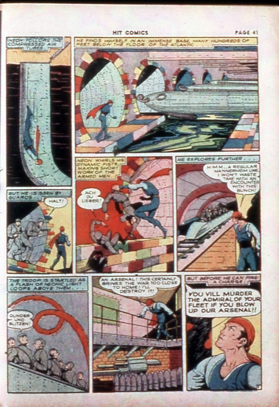 Read online Hit Comics comic -  Issue #14 - 43