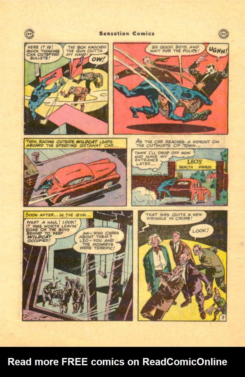 Read online Sensation (Mystery) Comics comic -  Issue #84 - 46