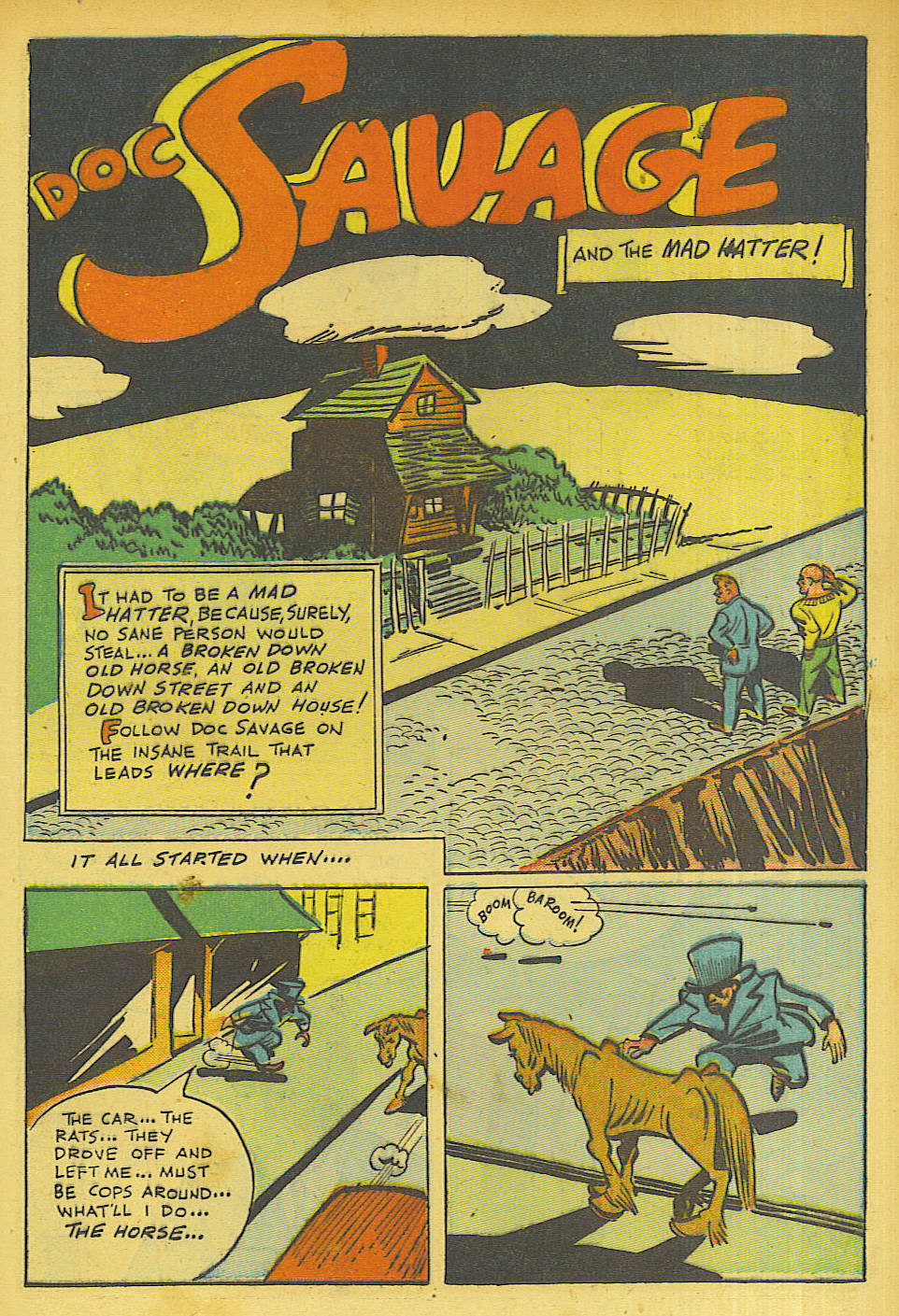 Read online Shadow Comics comic -  Issue #63 - 21