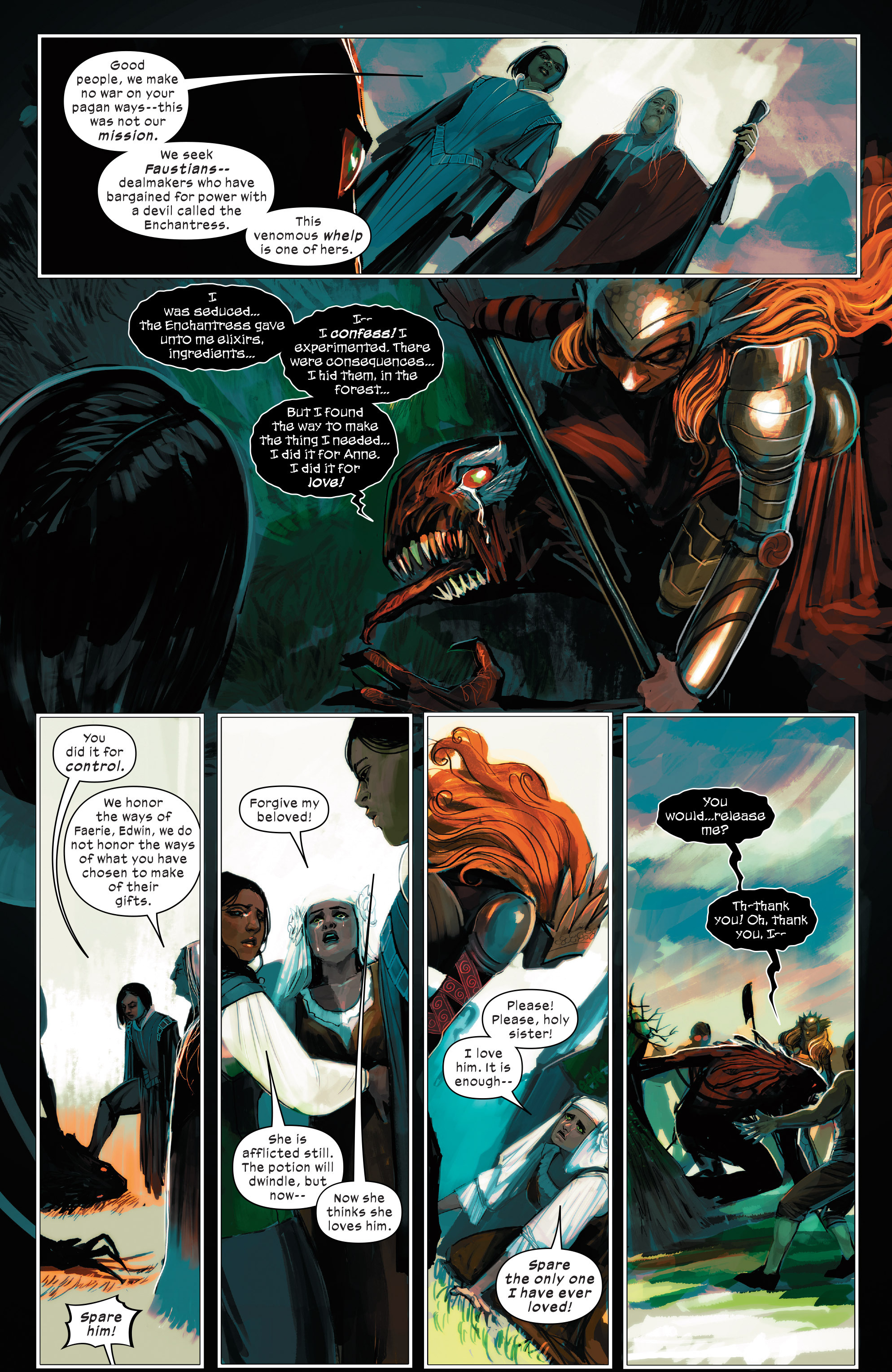 Read online 1602 Witch Hunter Angela comic -  Issue #2 - 18