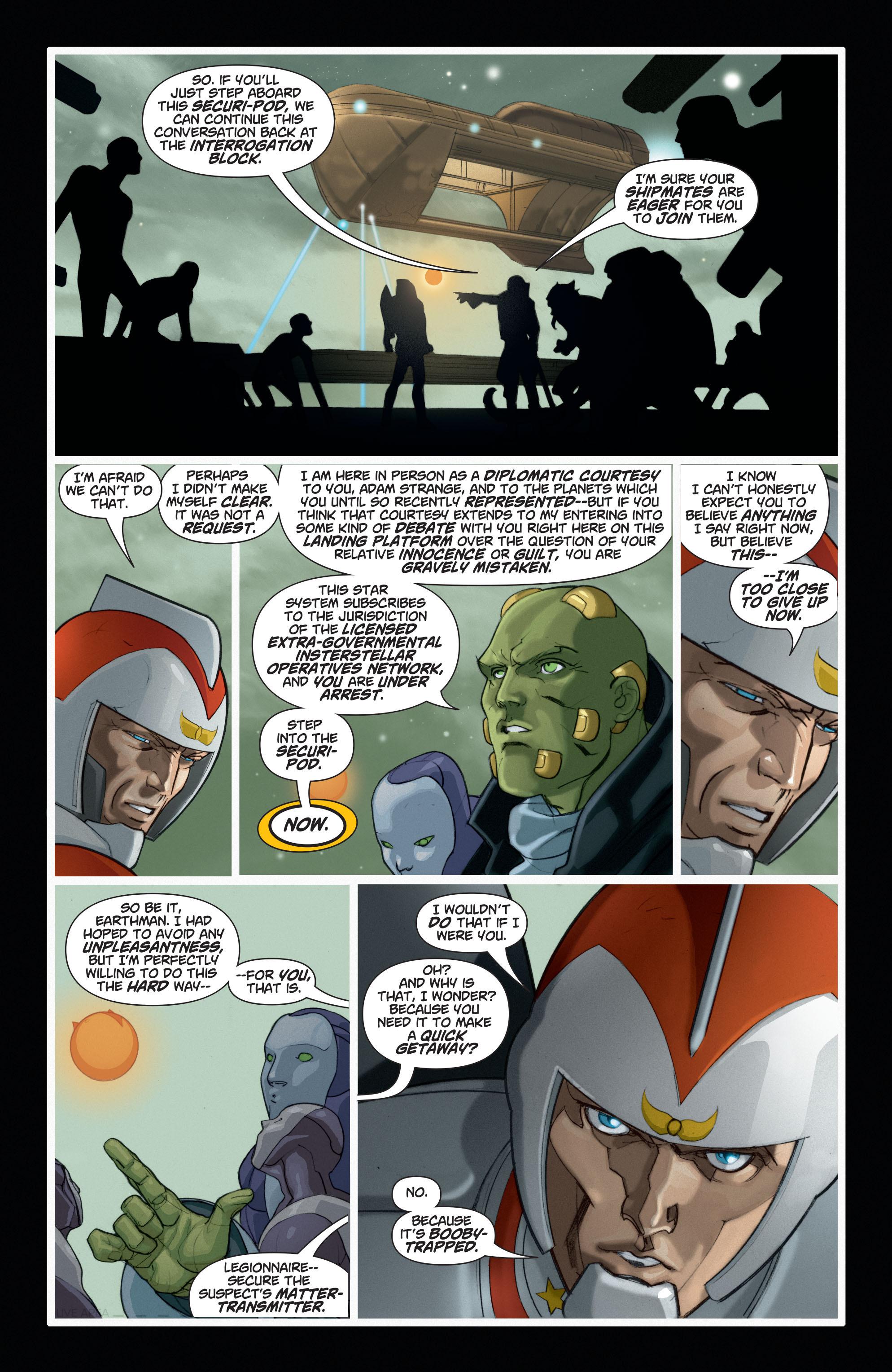 Read online Adam Strange (2004) comic -  Issue #6 - 18