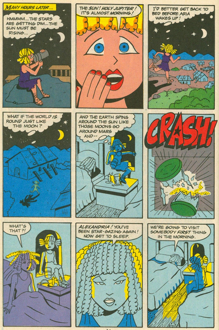 Read online Sweet XVI (Sixteen): Back To School Special comic -  Issue # Full - 26