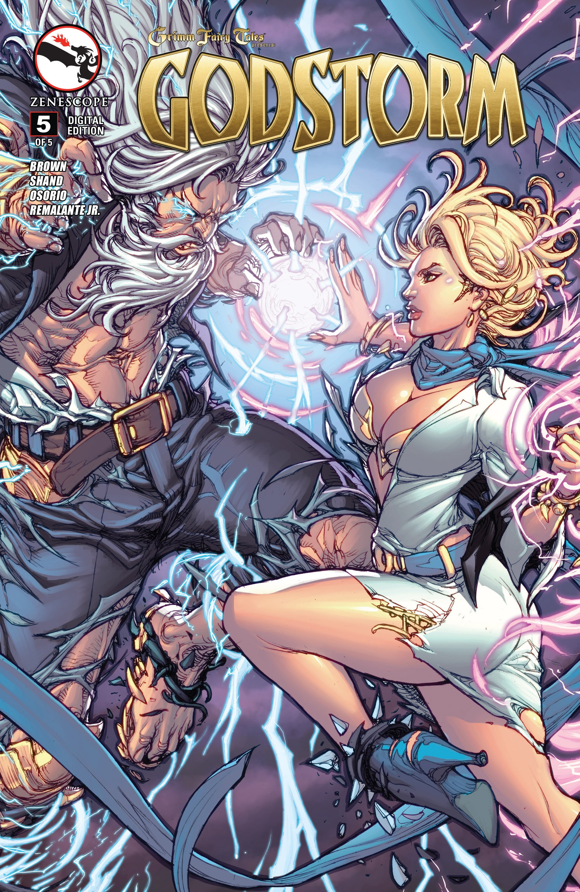 Grimm Fairy Tales presents Godstorm: Hercules Payne 5 Page 1