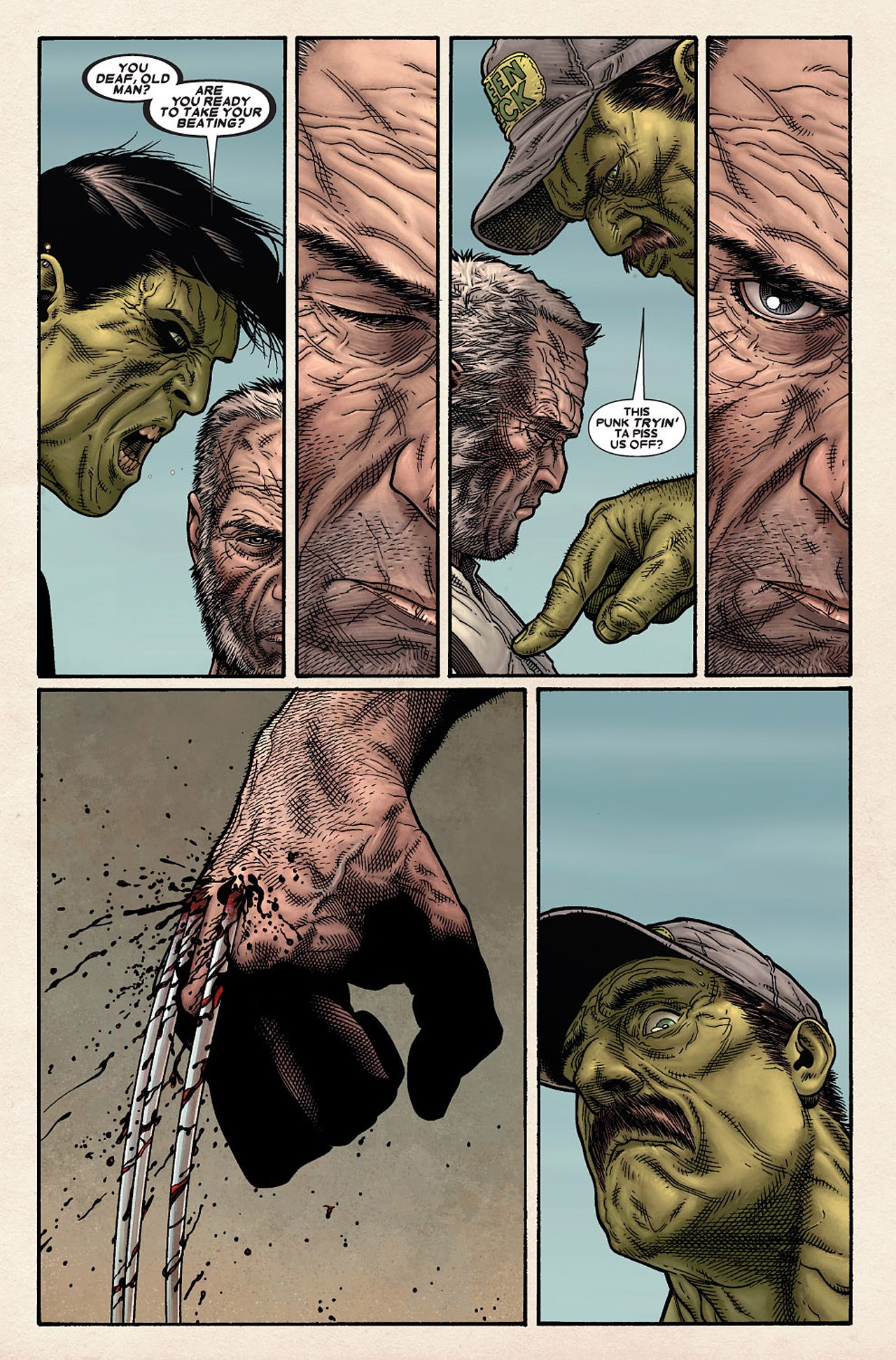 Read online Wolverine: Old Man Logan comic -  Issue # Full - 14