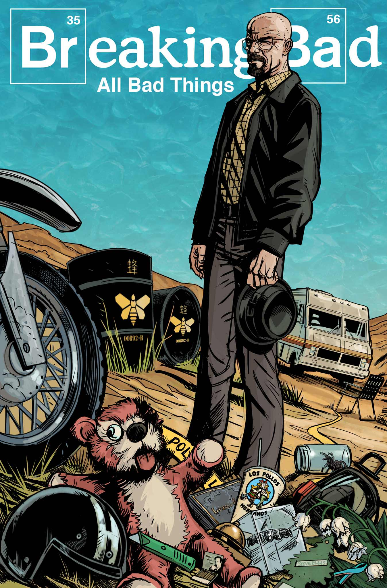 Read online Breaking Bad: All Bad Things comic -  Issue # Full - 1