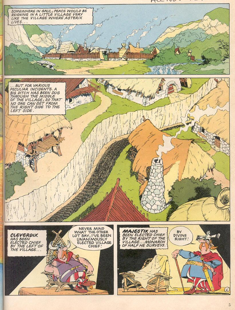 Read online Asterix comic -  Issue #25 - 2