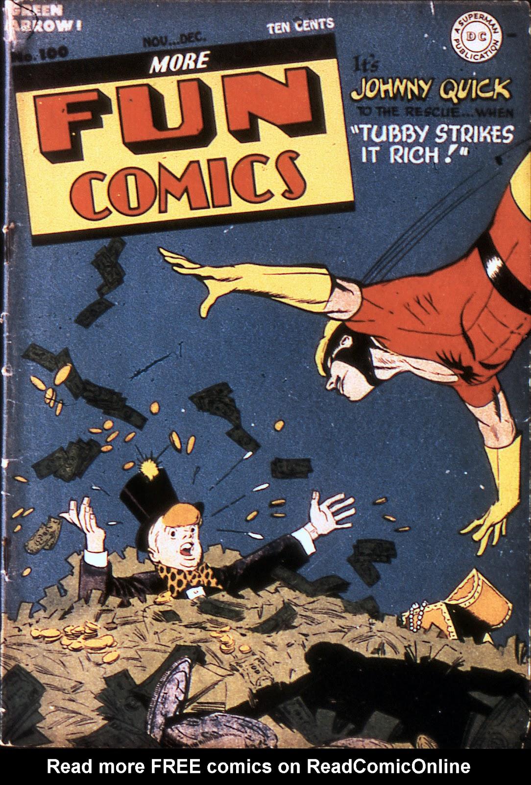 More Fun Comics 100 Page 1