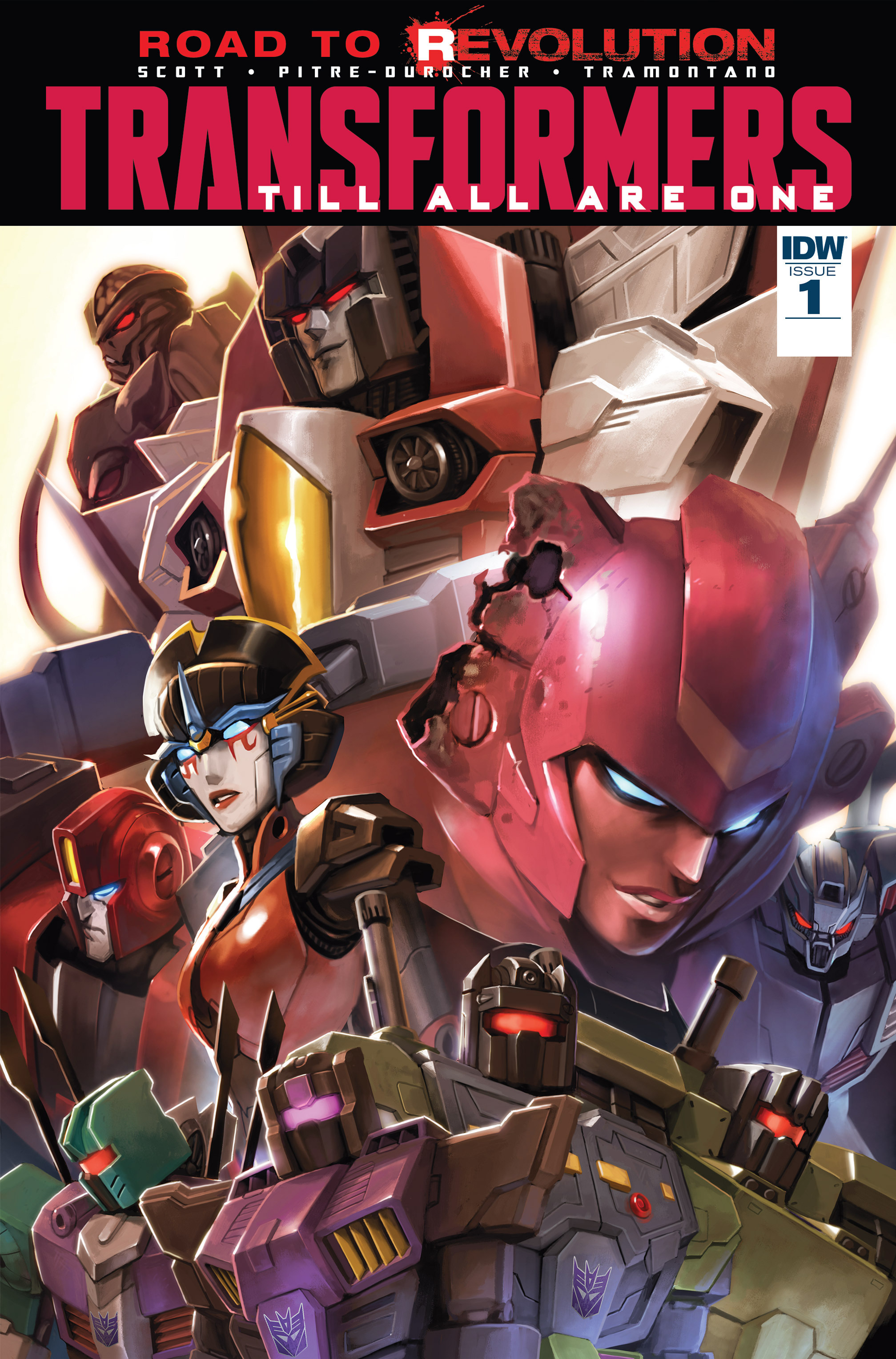 Read online Transformers: Till All Are One comic -  Issue #1 - 1