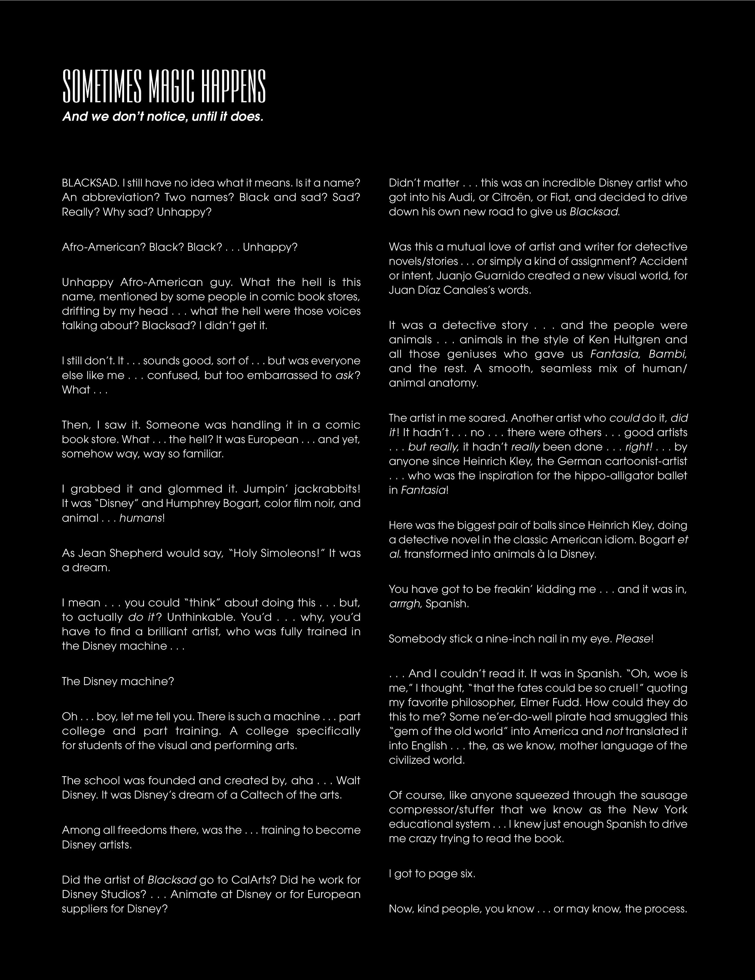 Read online Blacksad: Amarillo comic -  Issue # Full - 5