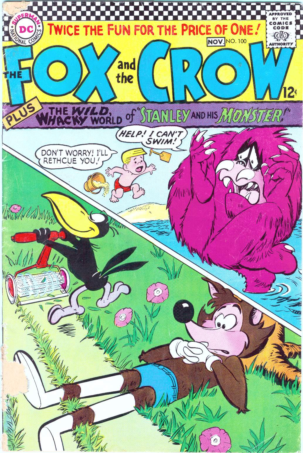 The Fox and the Crow issue 100 - Page 1