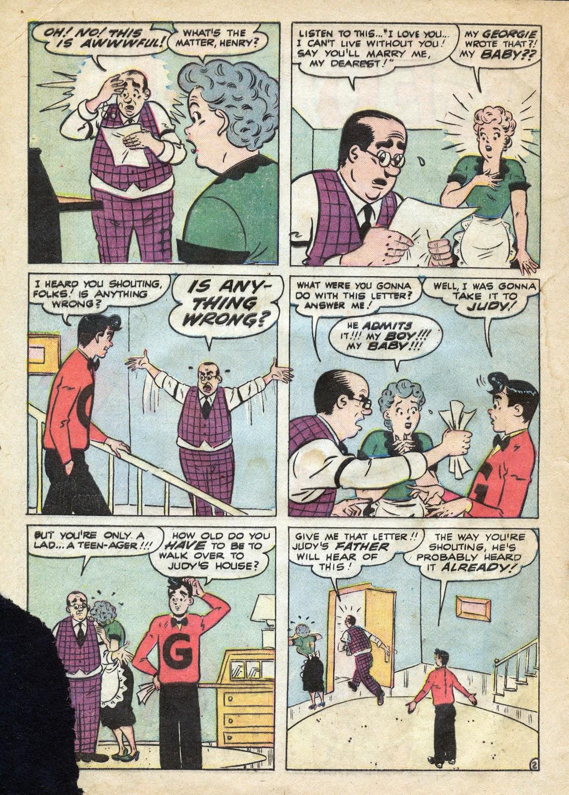 Georgie Comics (1949) issue 39 - Page 4