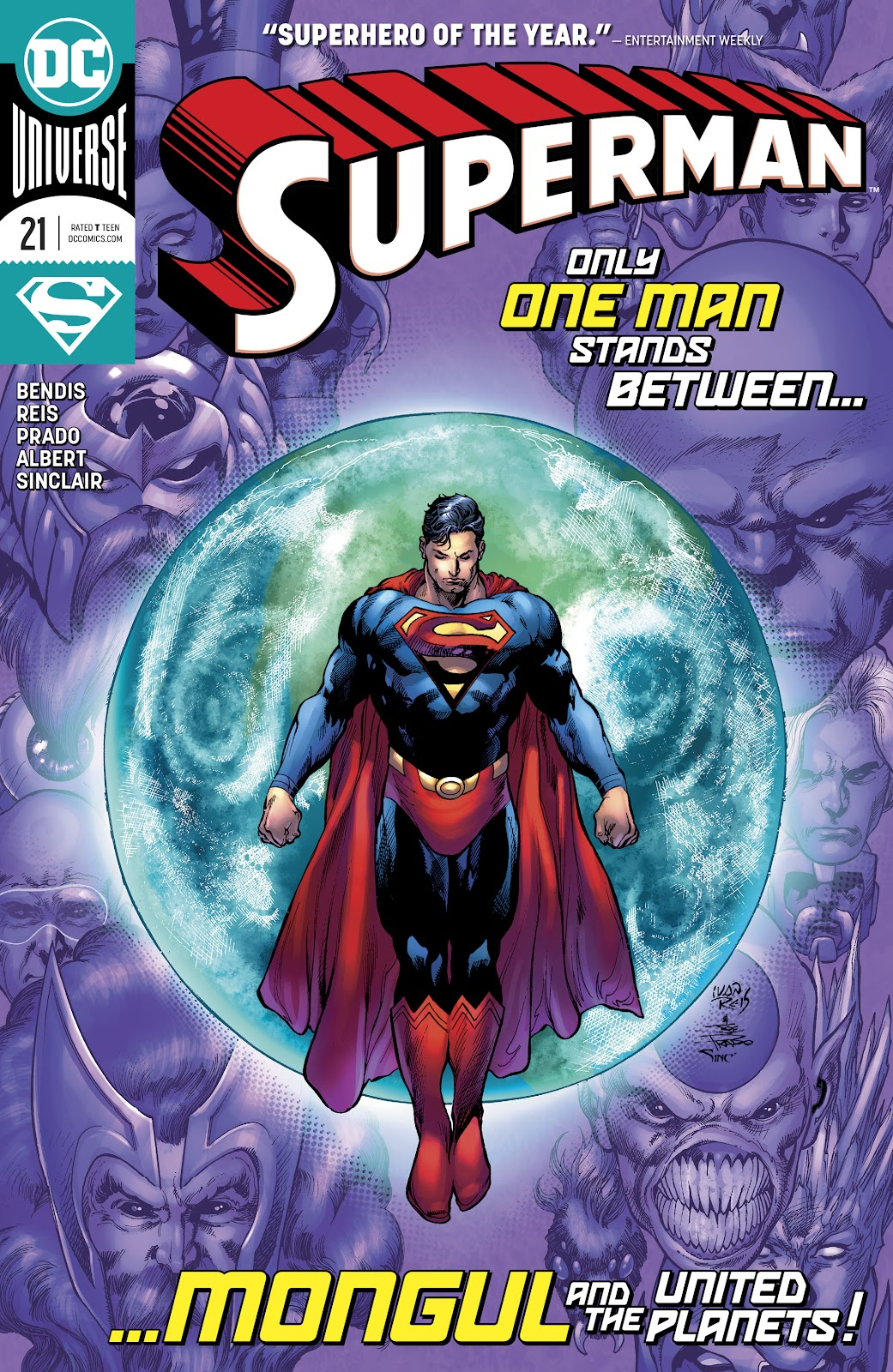 Superman (2018) 21 Page 1
