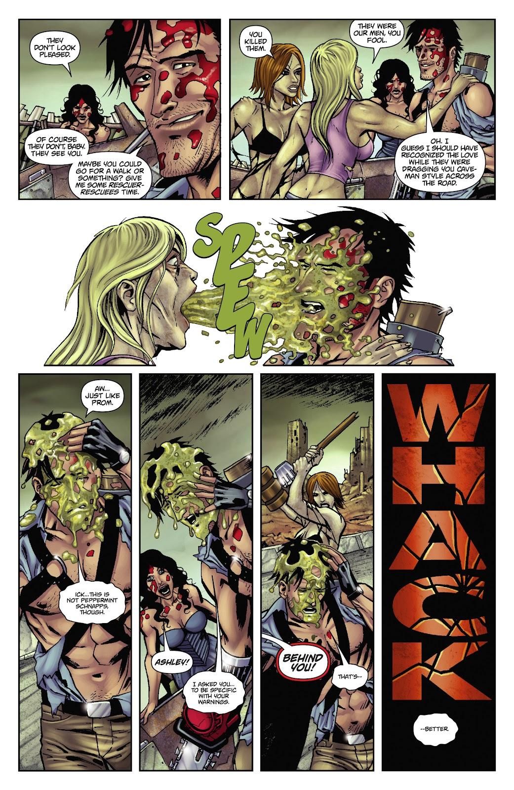 Army of Darkness: The Long Road Home issue TPB - Page 38