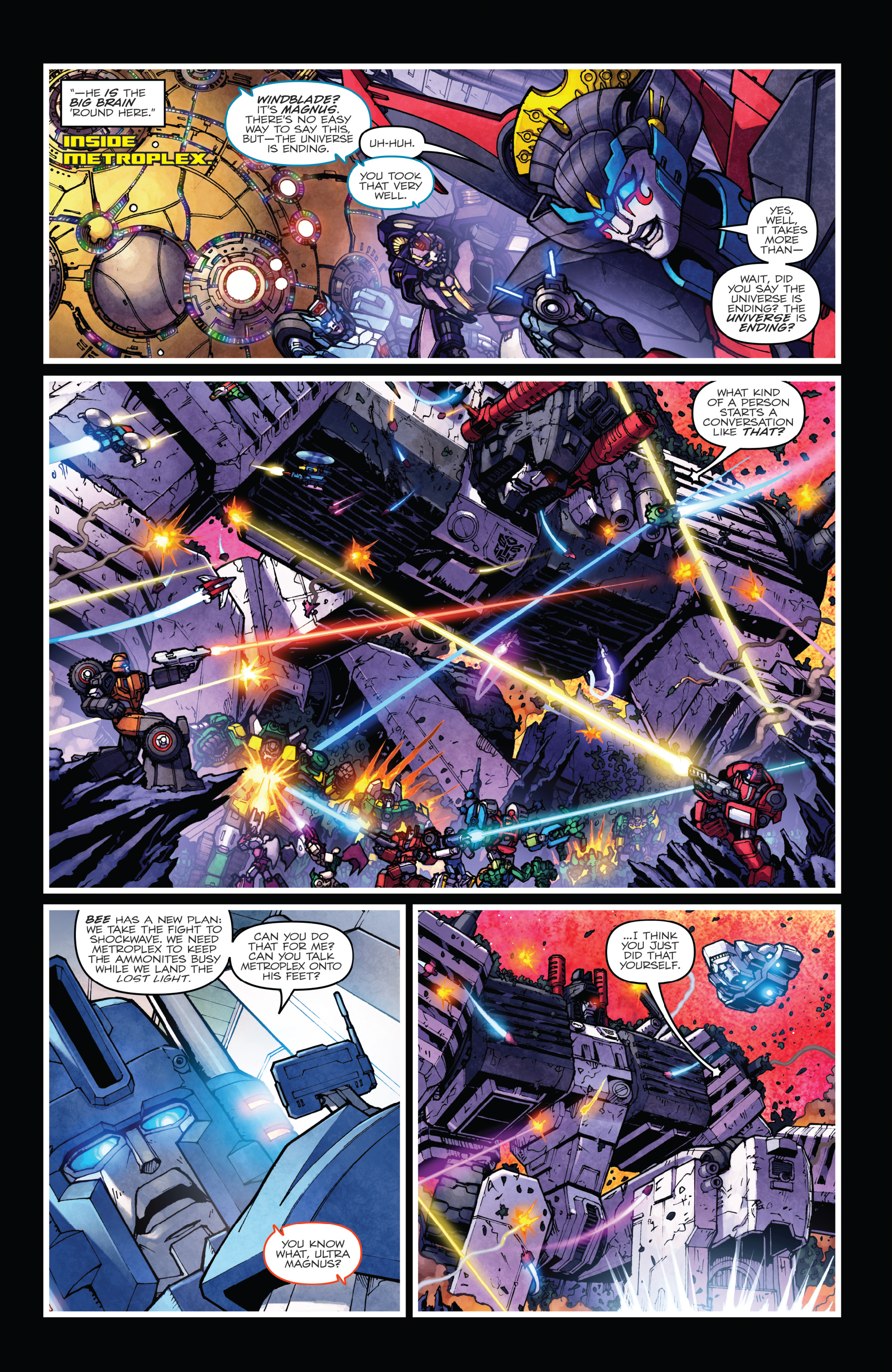 Read online The Transformers: Dark Cybertron Finale comic -  Issue # Full - 109