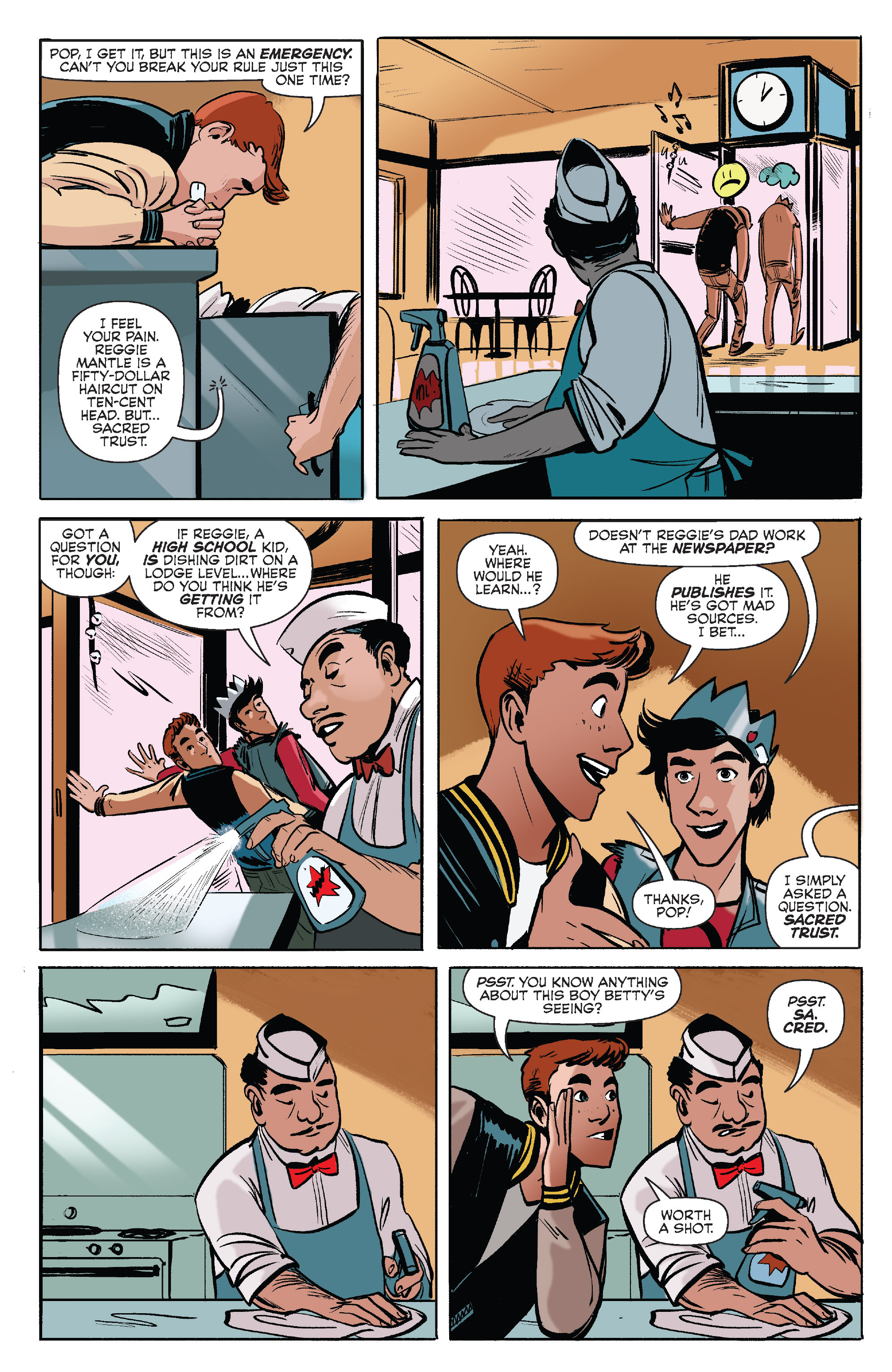 Read online Archie (2015) comic -  Issue #7 - 12
