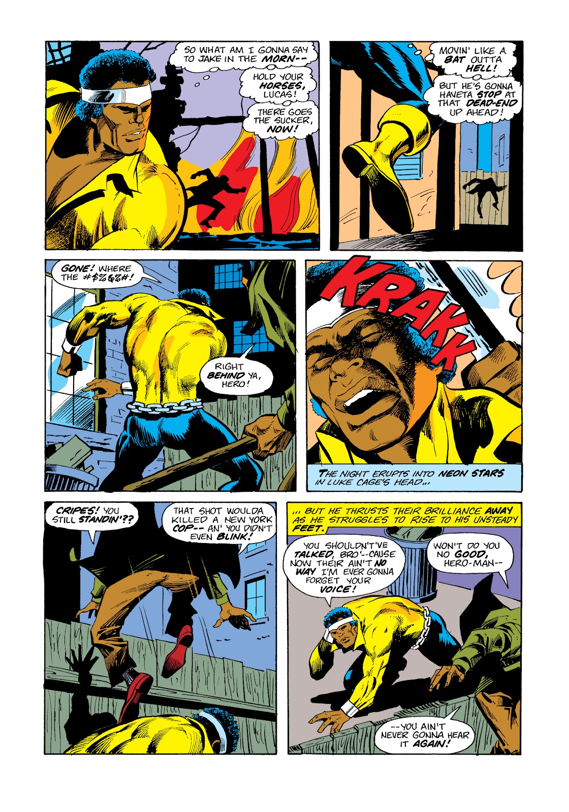 Read online Marvel Masterworks: Luke Cage, Power Man comic -  Issue # TPB 2 (Part 3) - 44