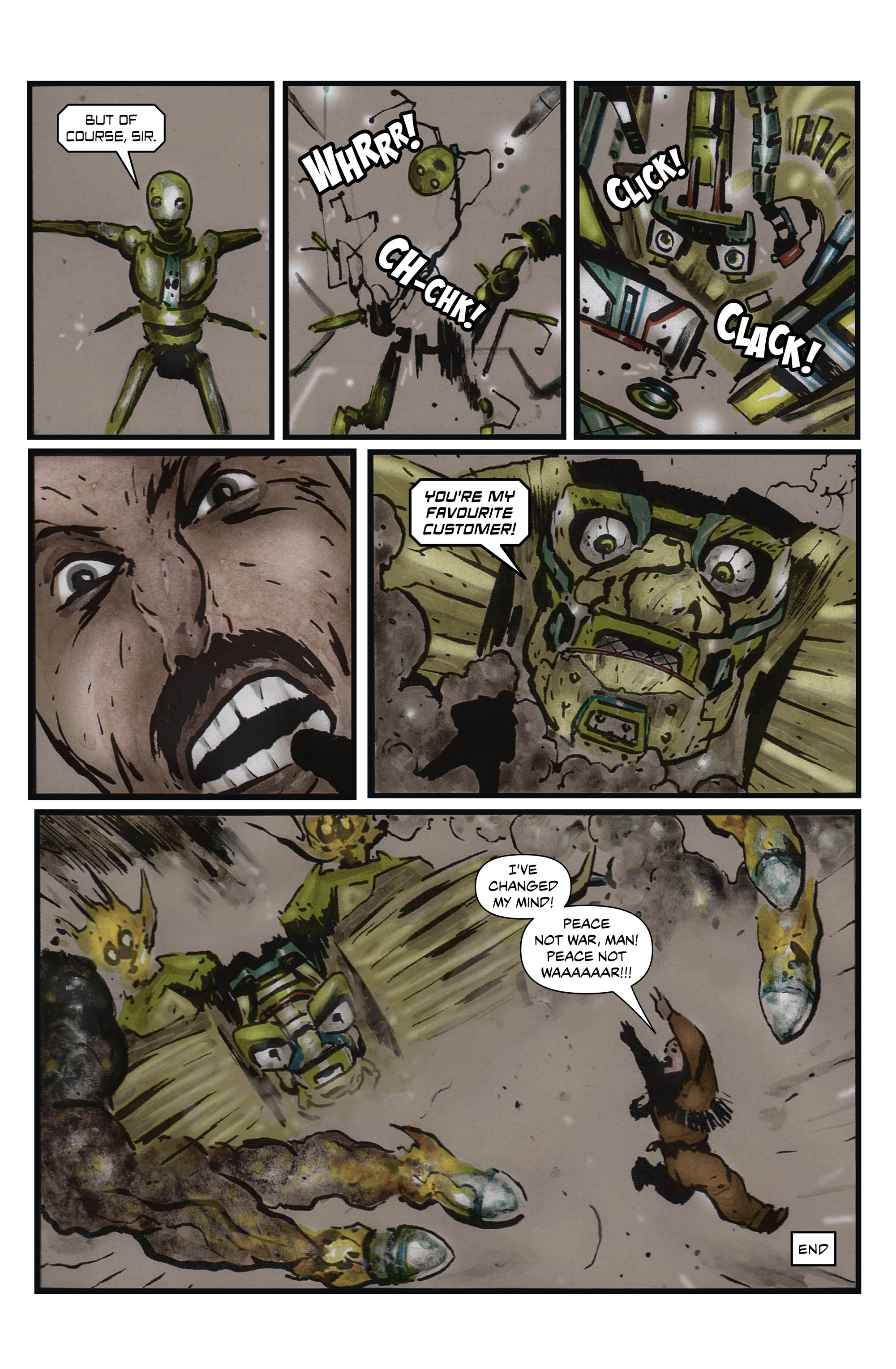 Read online 100% Biodegradable comic -  Issue #13 - 26