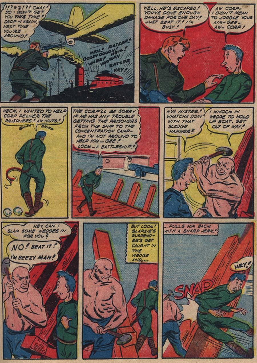 Bacie Porno blue ribbon comics 1939 issue 18   viewcomic reading comics