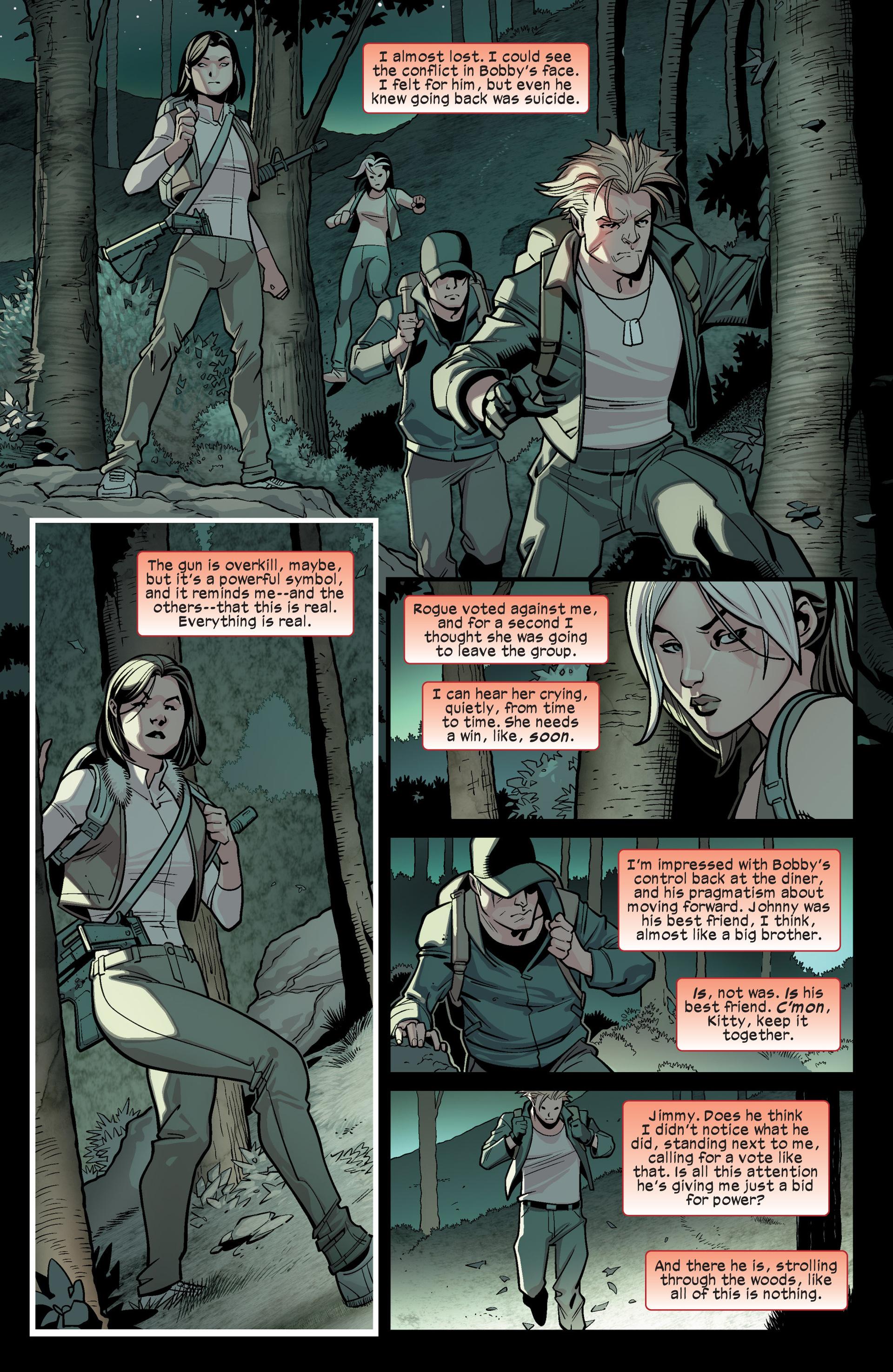 Read online Ultimate Comics X-Men comic -  Issue #15 - 16