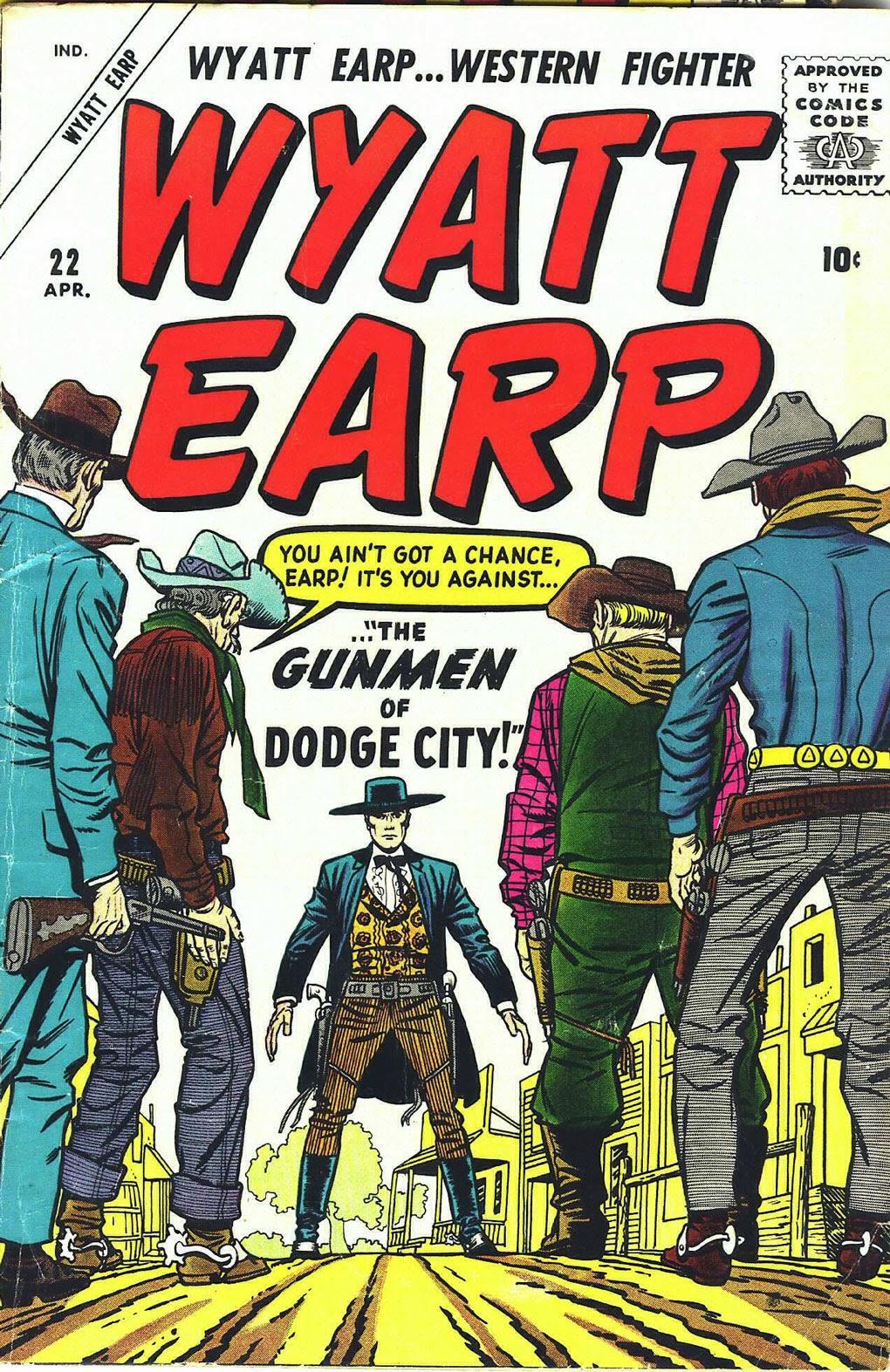 Wyatt Earp issue 22 - Page 1