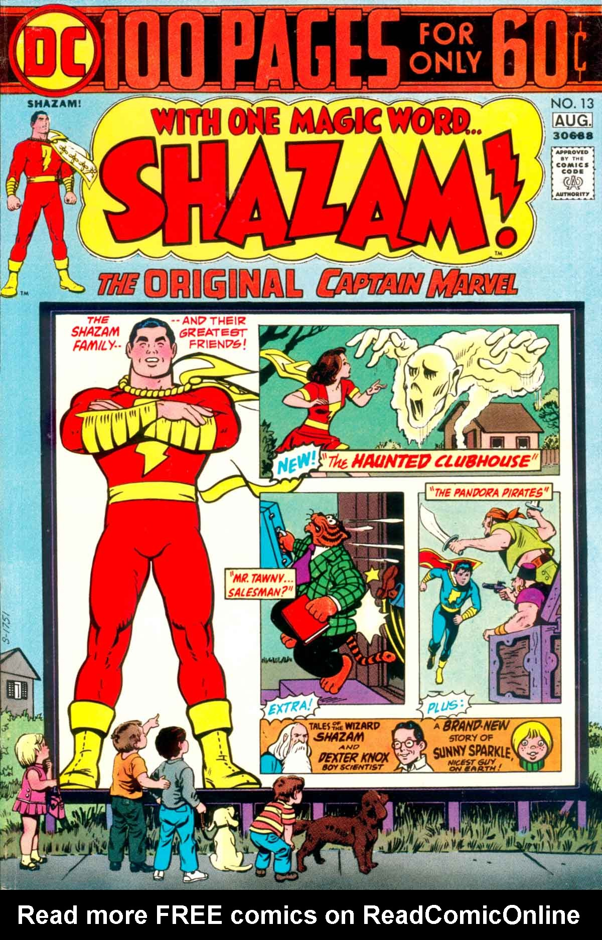 Read online Shazam! (1973) comic -  Issue #13 - 1