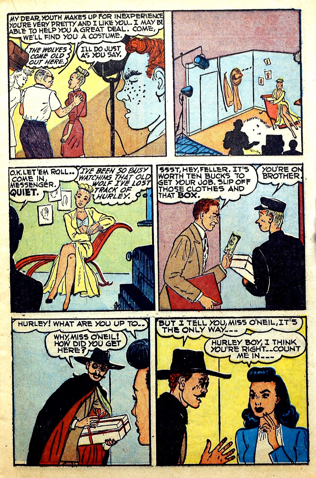 Read online Famous Funnies comic -  Issue #166 - 21
