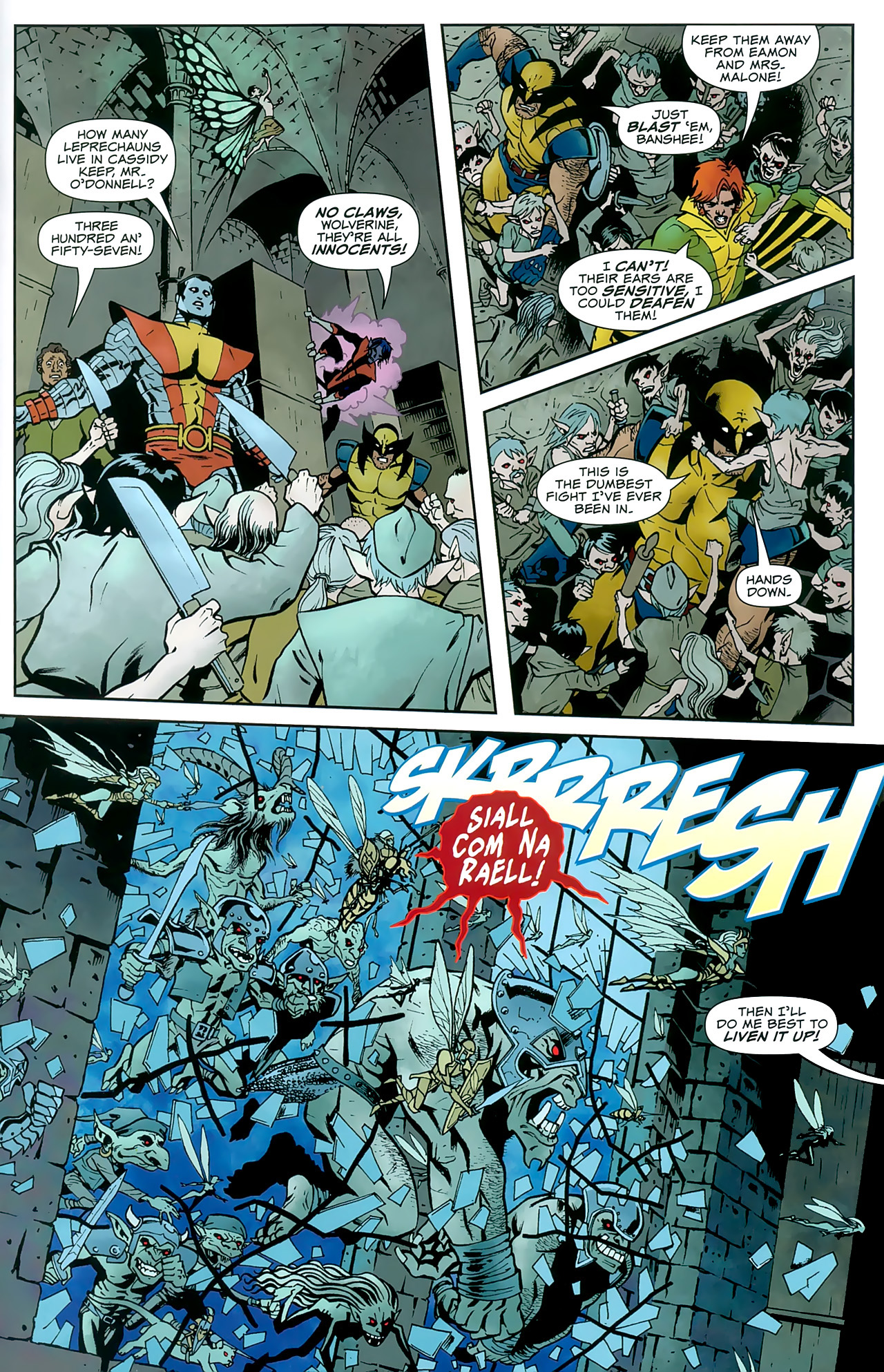 Read online Uncanny X-Men: First Class comic -  Issue #8 - 17