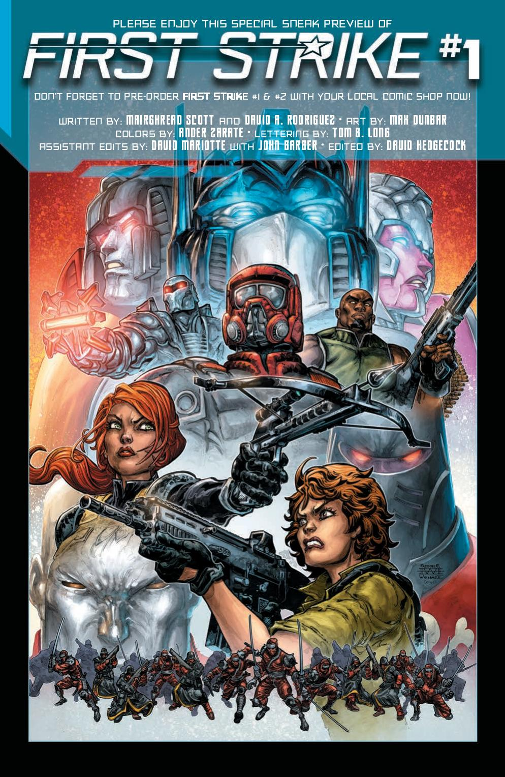 Read online First Strike comic -  Issue #0 - 10