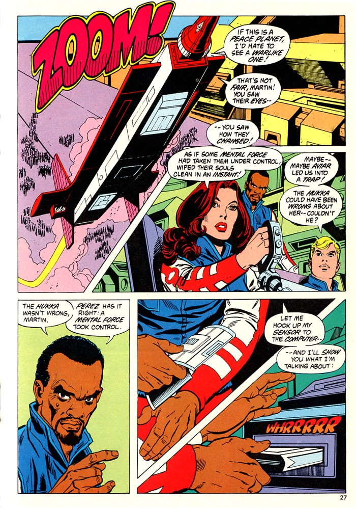 Read online Atari Force (1982) comic -  Issue #5 - 29