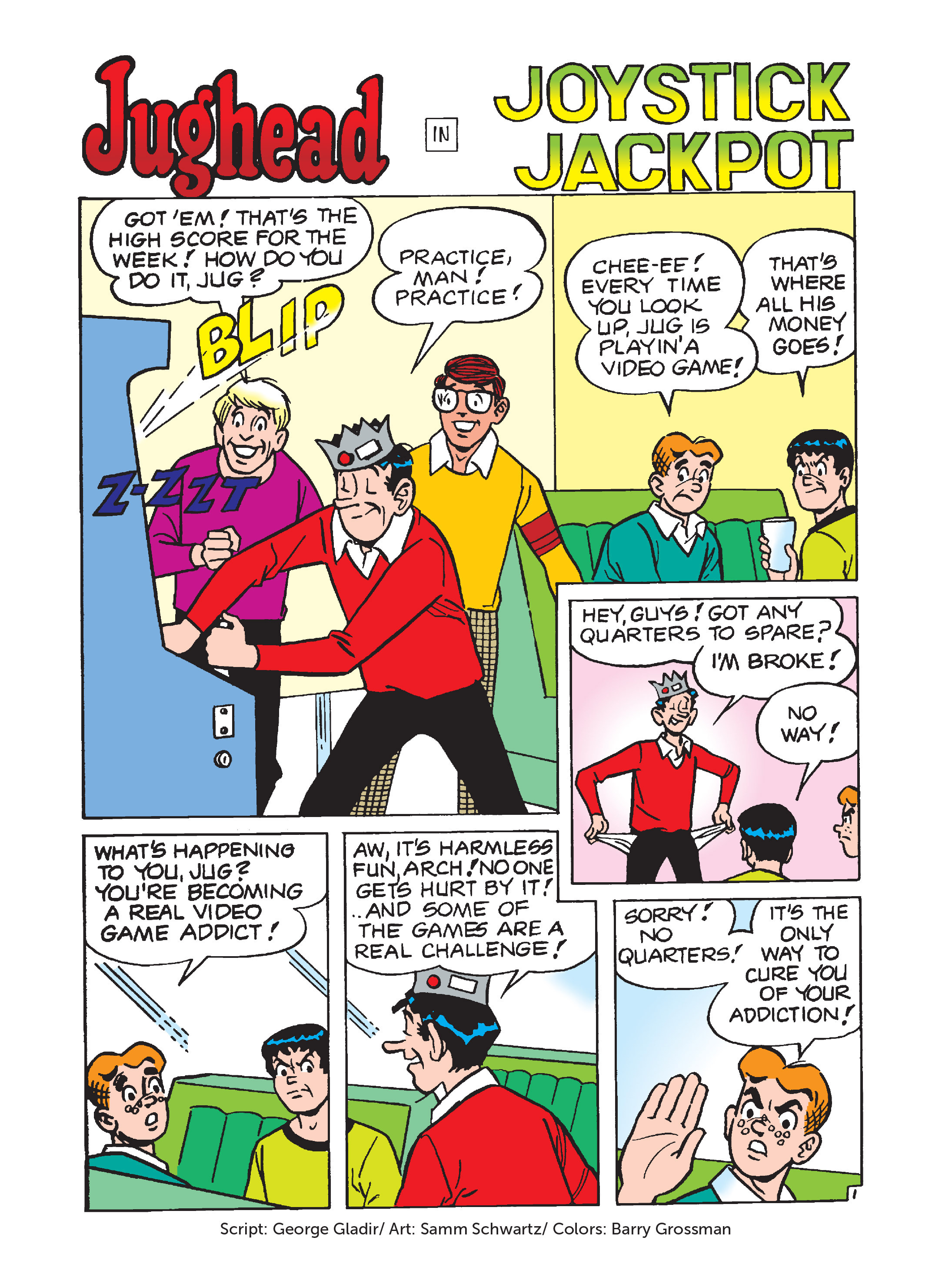 Read online Archie 75th Anniversary Digest comic -  Issue #1 - 64