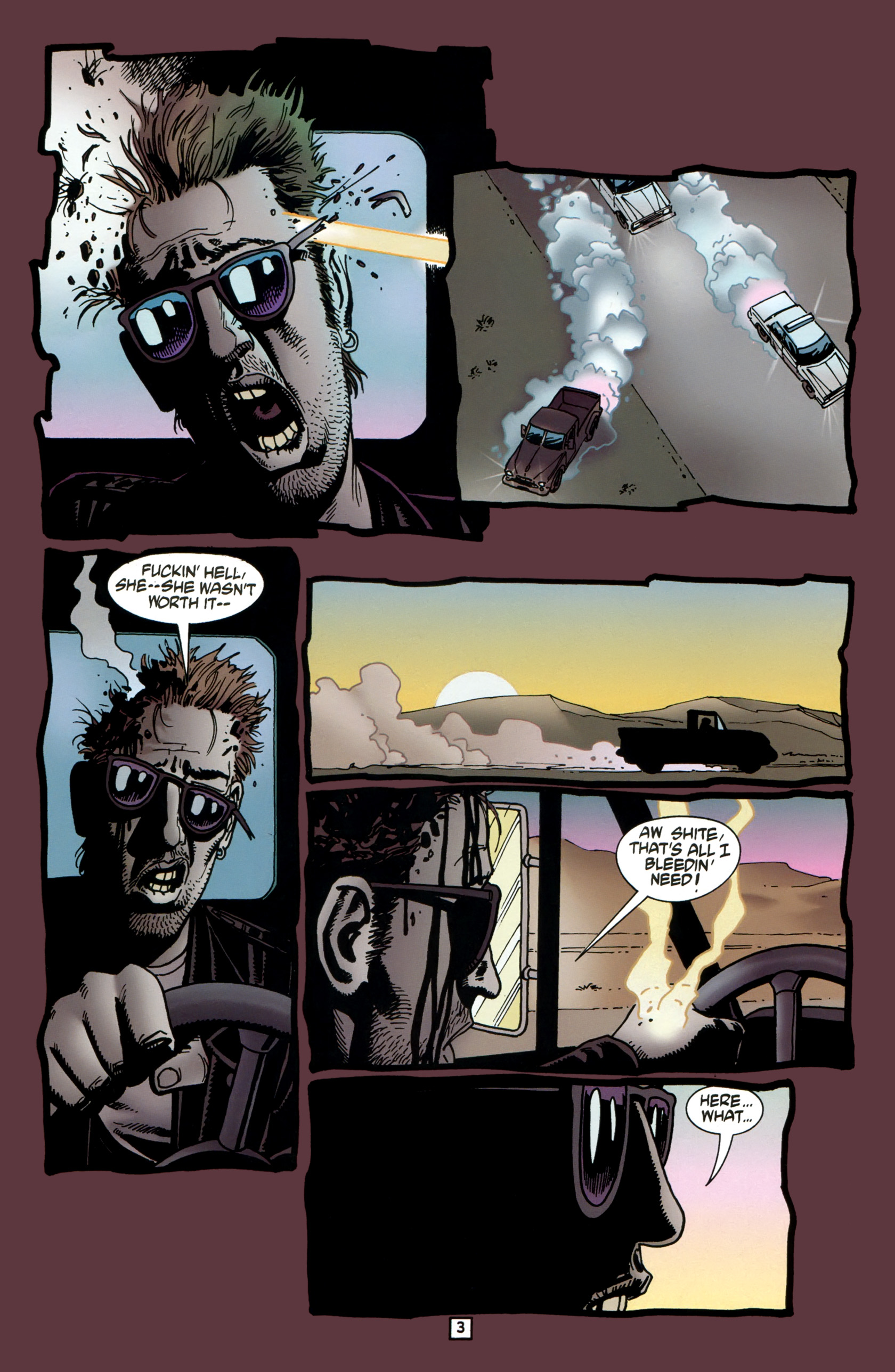 Read online Preacher Special: Cassidy : Blood and Whiskey comic -  Issue # Full - 5