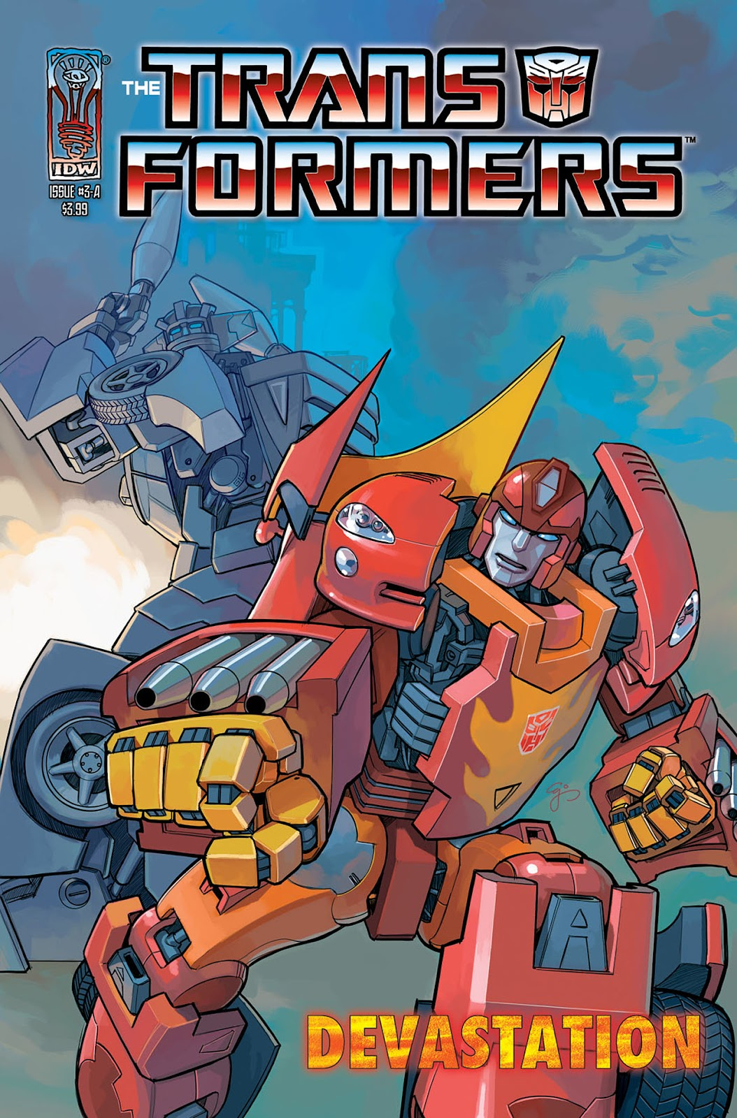 The Transformers: Devastation issue 3 - Page 1