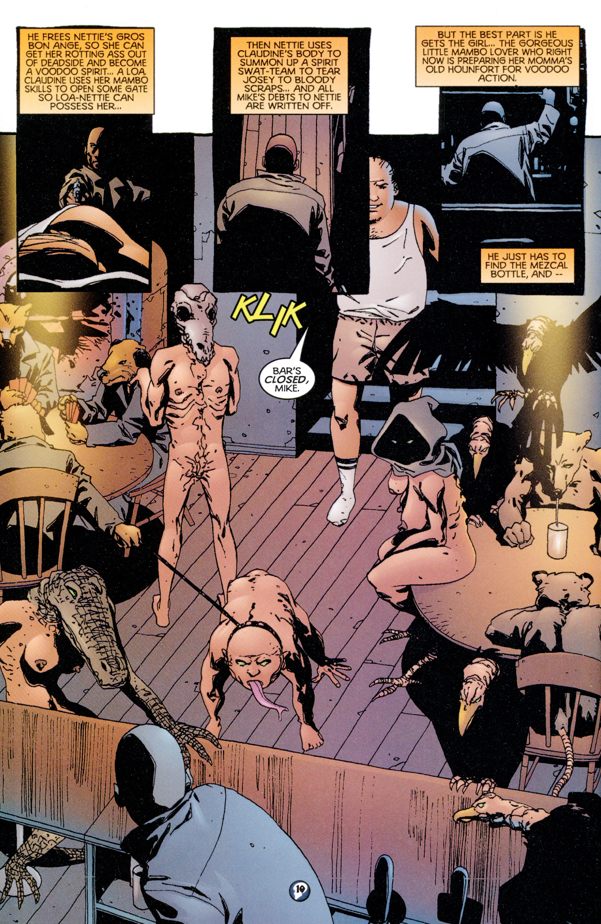 Read online Shadowman (1997) comic -  Issue #8 - 9