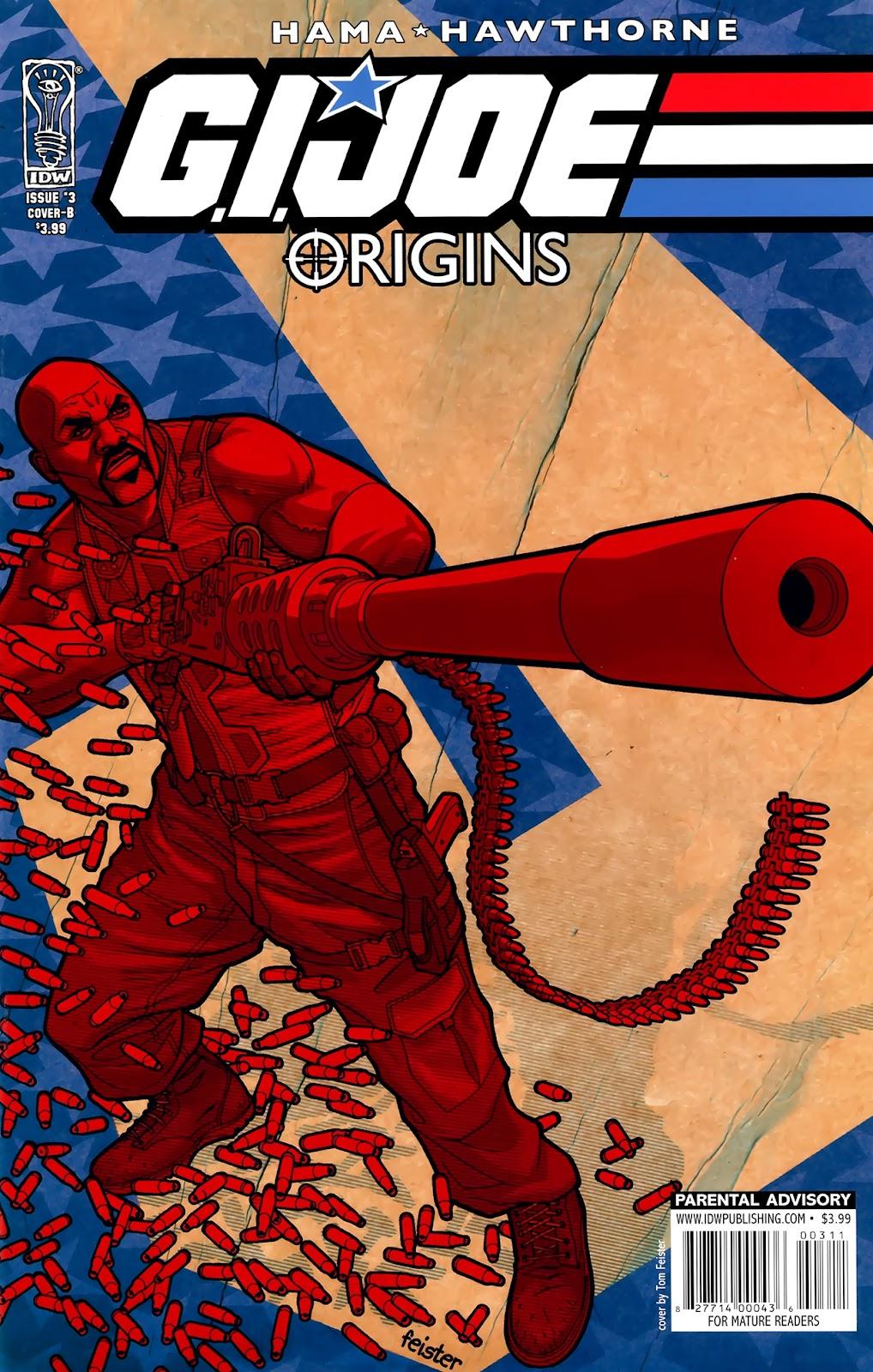 G.I. Joe: Origins issue 3 - Page 2