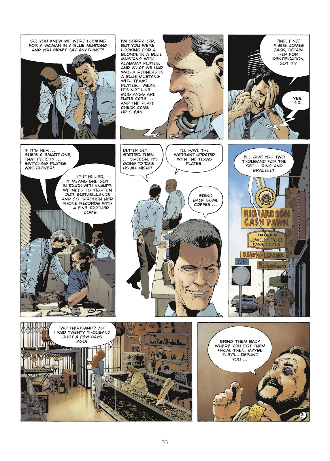 XIII Mystery issue 9 - Page 35