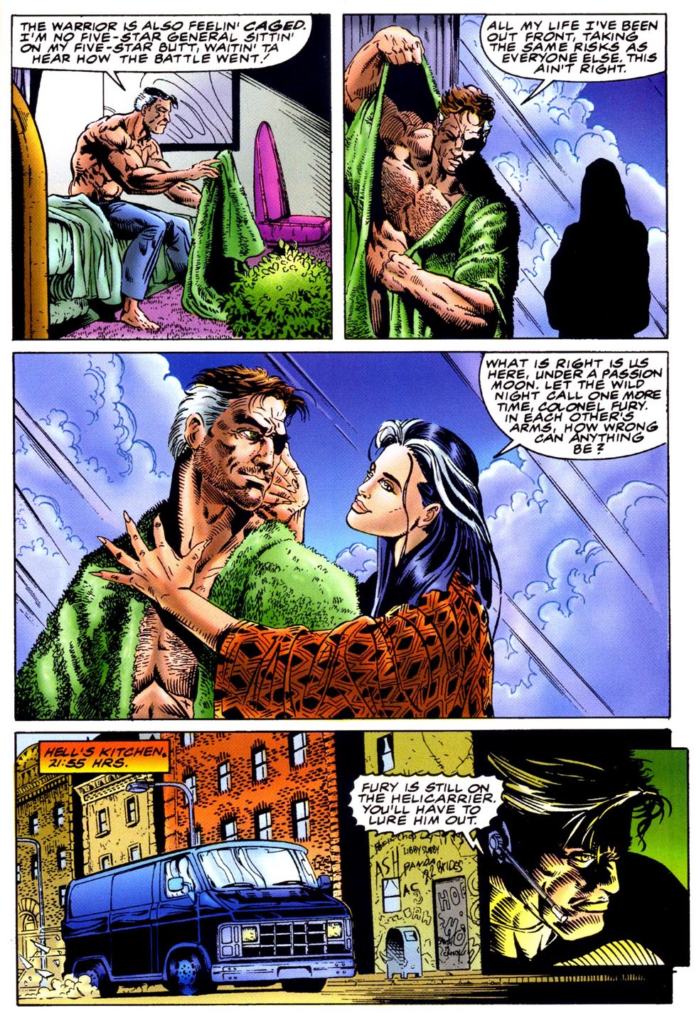 Read online Double Edge comic -  Issue # Issue Omega - 24