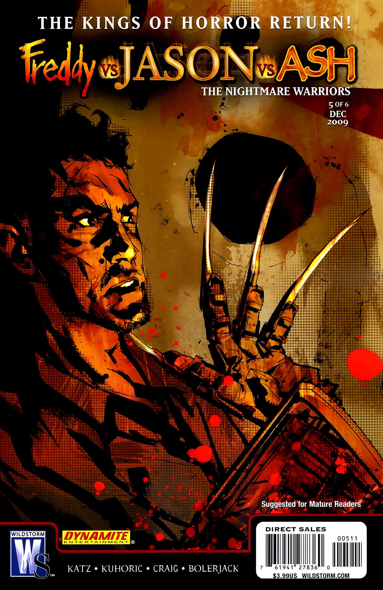 Freddy vs. Jason vs. Ash: The Nightmare Warriors 5 Page 1