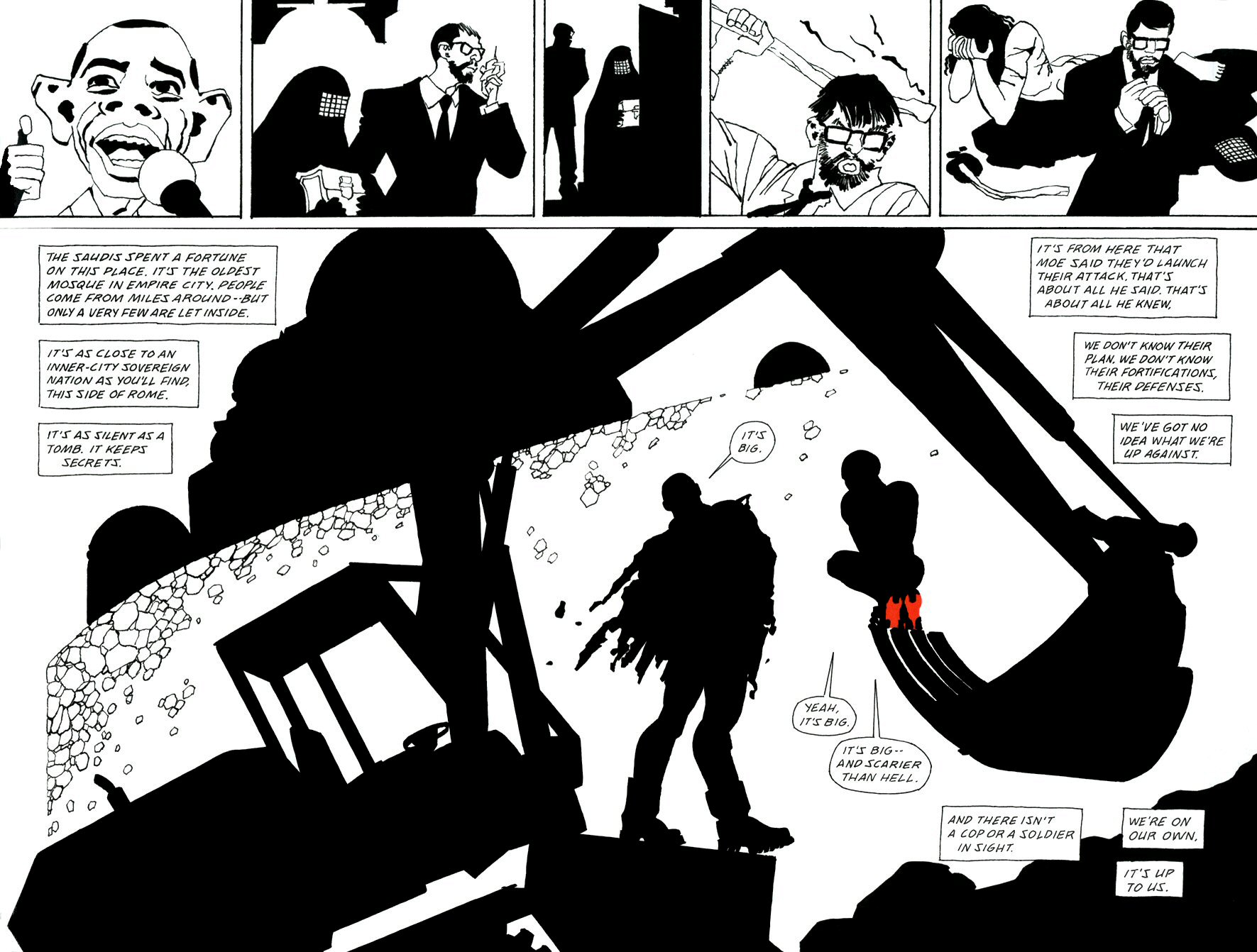 Read online Frank Miller's Holy Terror comic -  Issue # TPB - 96
