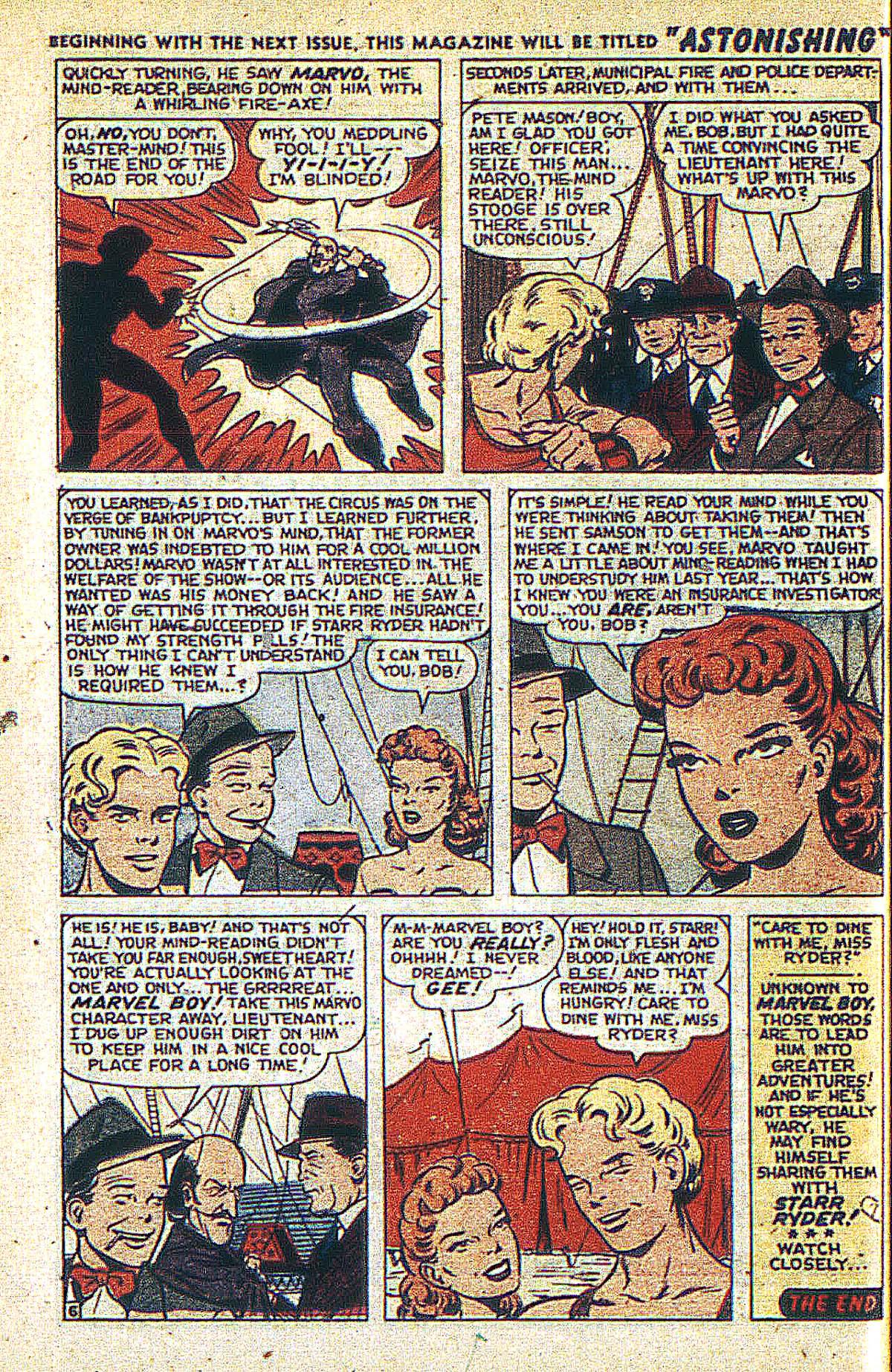 Read online Marvel Boy (1950) comic -  Issue #2 - 33