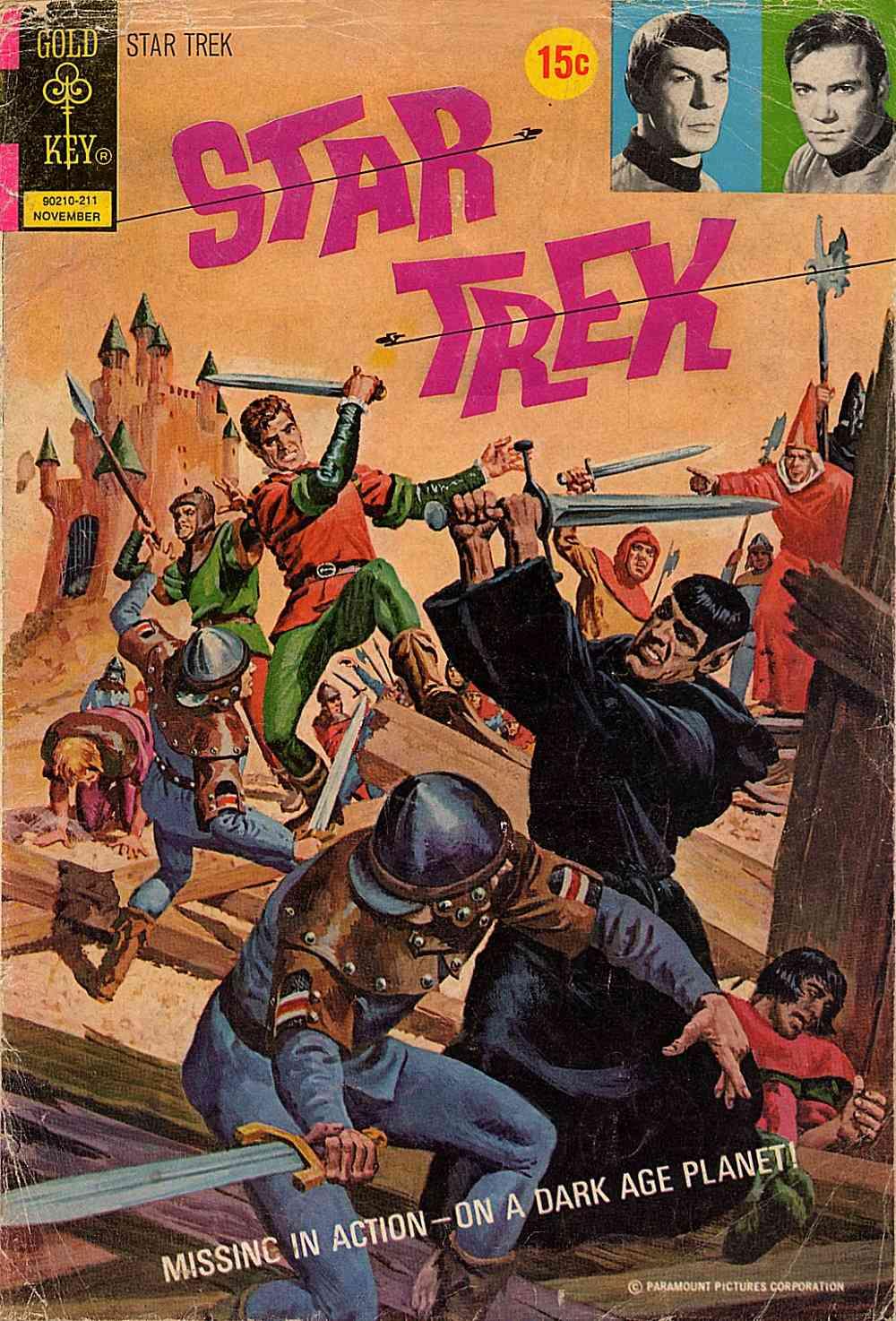 Star Trek (1967) issue 16 - Page 1