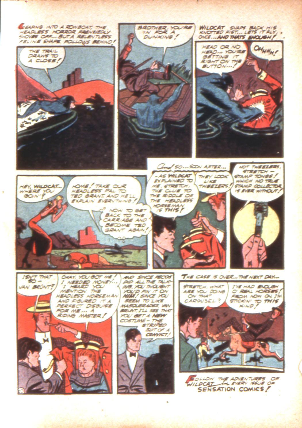 Read online Sensation (Mystery) Comics comic -  Issue #16 - 65