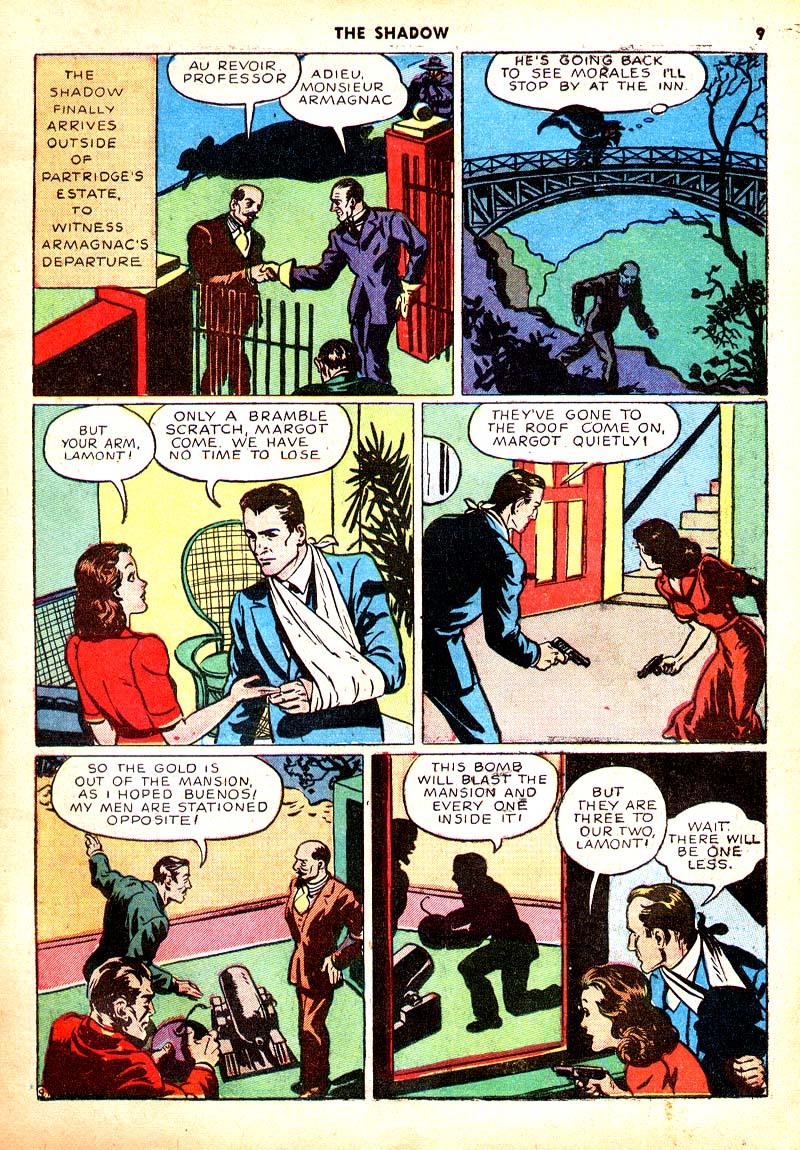 Read online Shadow Comics comic -  Issue #7 - 10