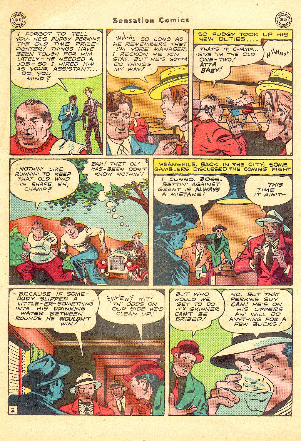 Sensation (Mystery) Comics issue 57 - Page 44