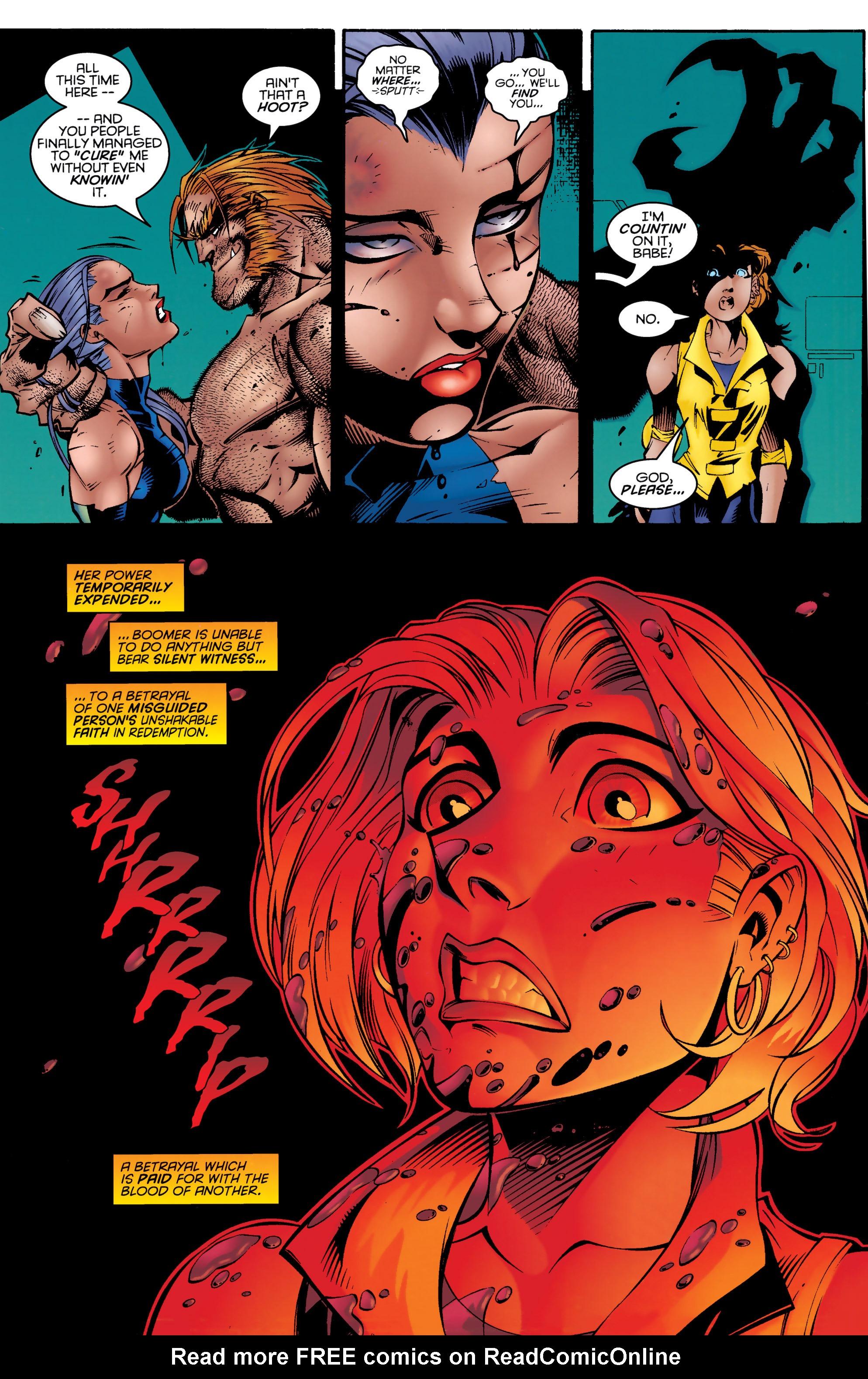 Read online Uncanny X-Men (1963) comic -  Issue #328 - 20