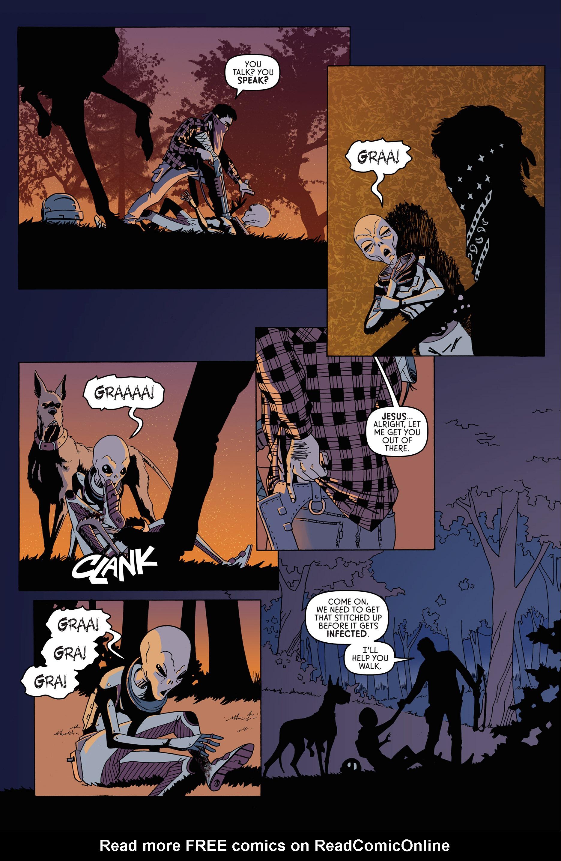 Read online Trespasser comic -  Issue #1 - 9