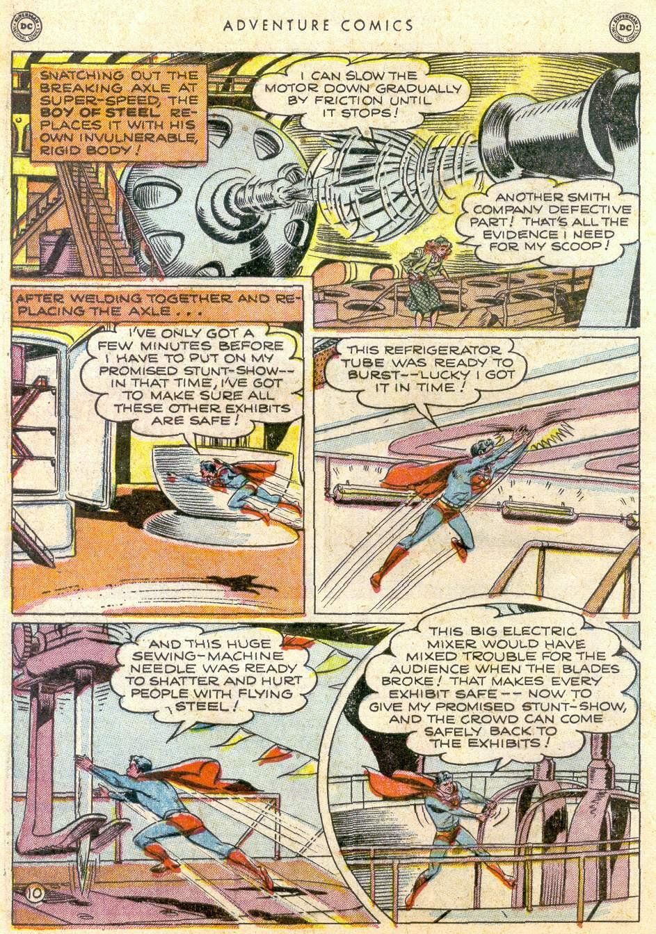 Read online Adventure Comics (1938) comic -  Issue #161 - 12