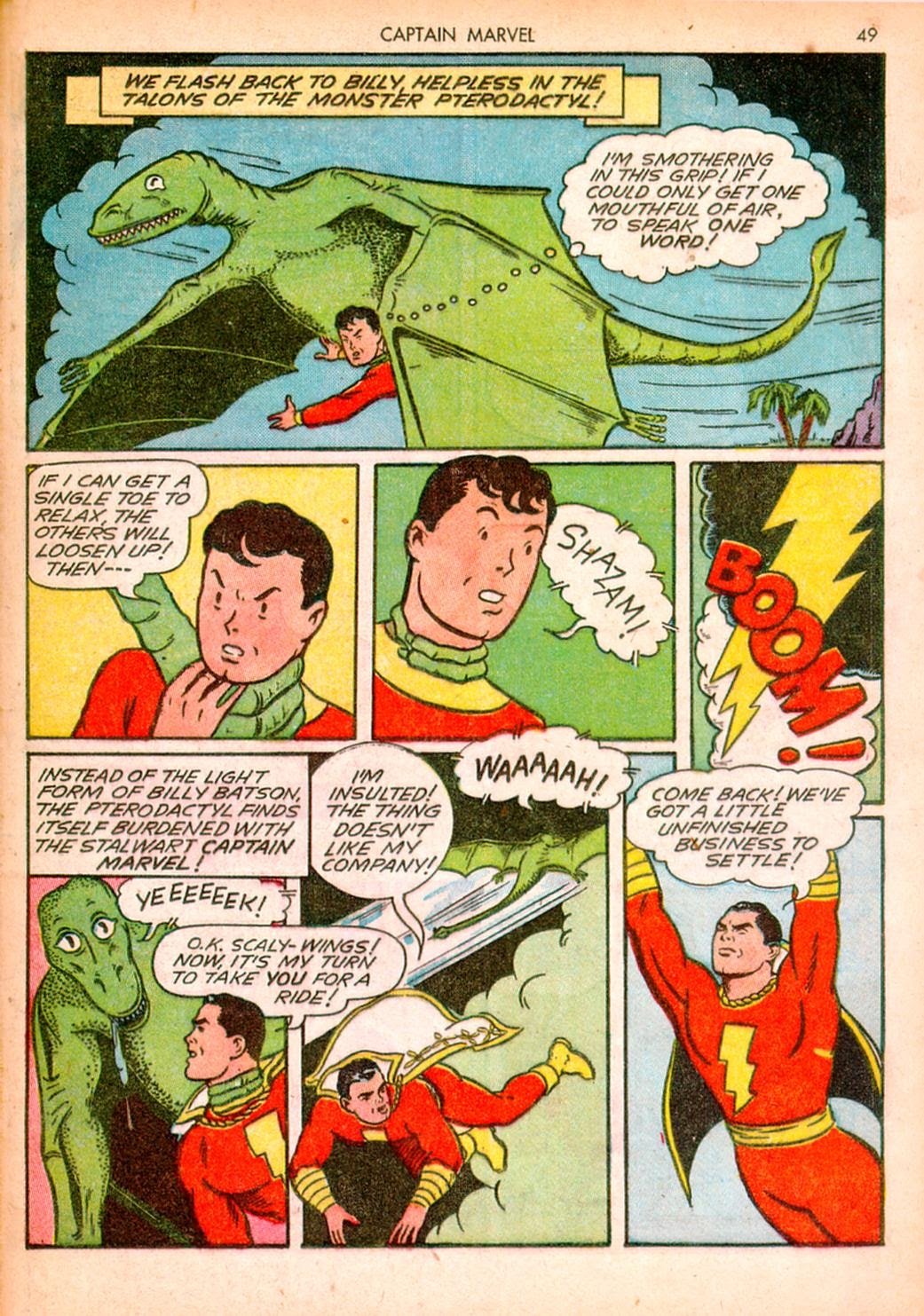 Captain Marvel Adventures issue 10 - Page 49