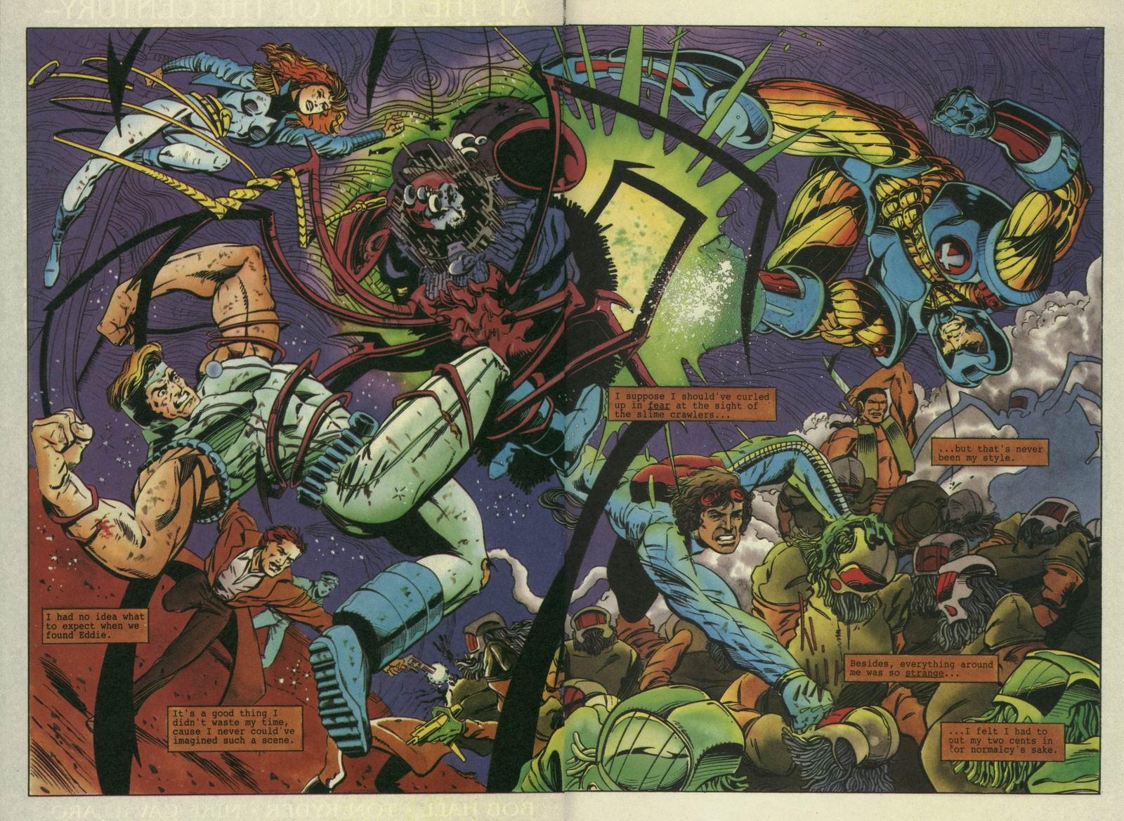 Read online Secret Weapons comic -  Issue #7 - 17