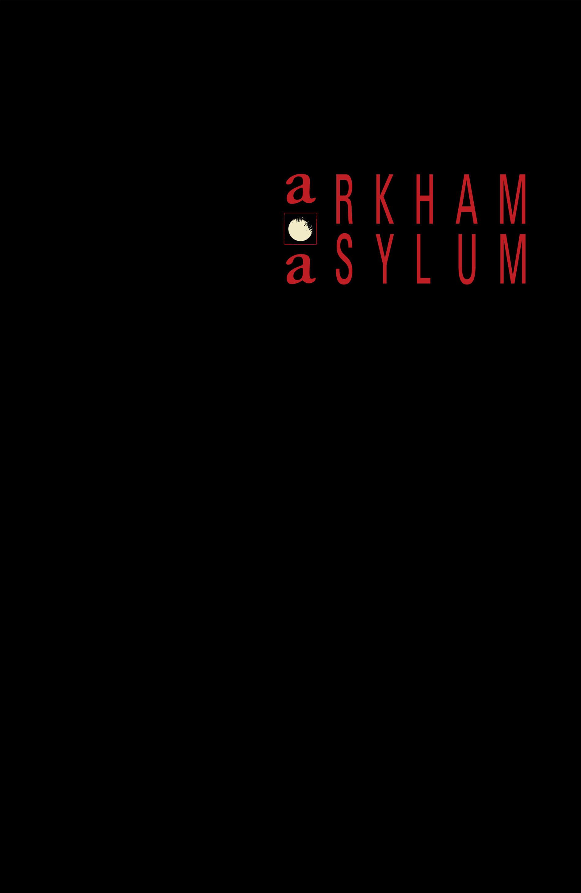 Read online Arkham Asylum comic -  Issue #Arkham Asylum Full - 2