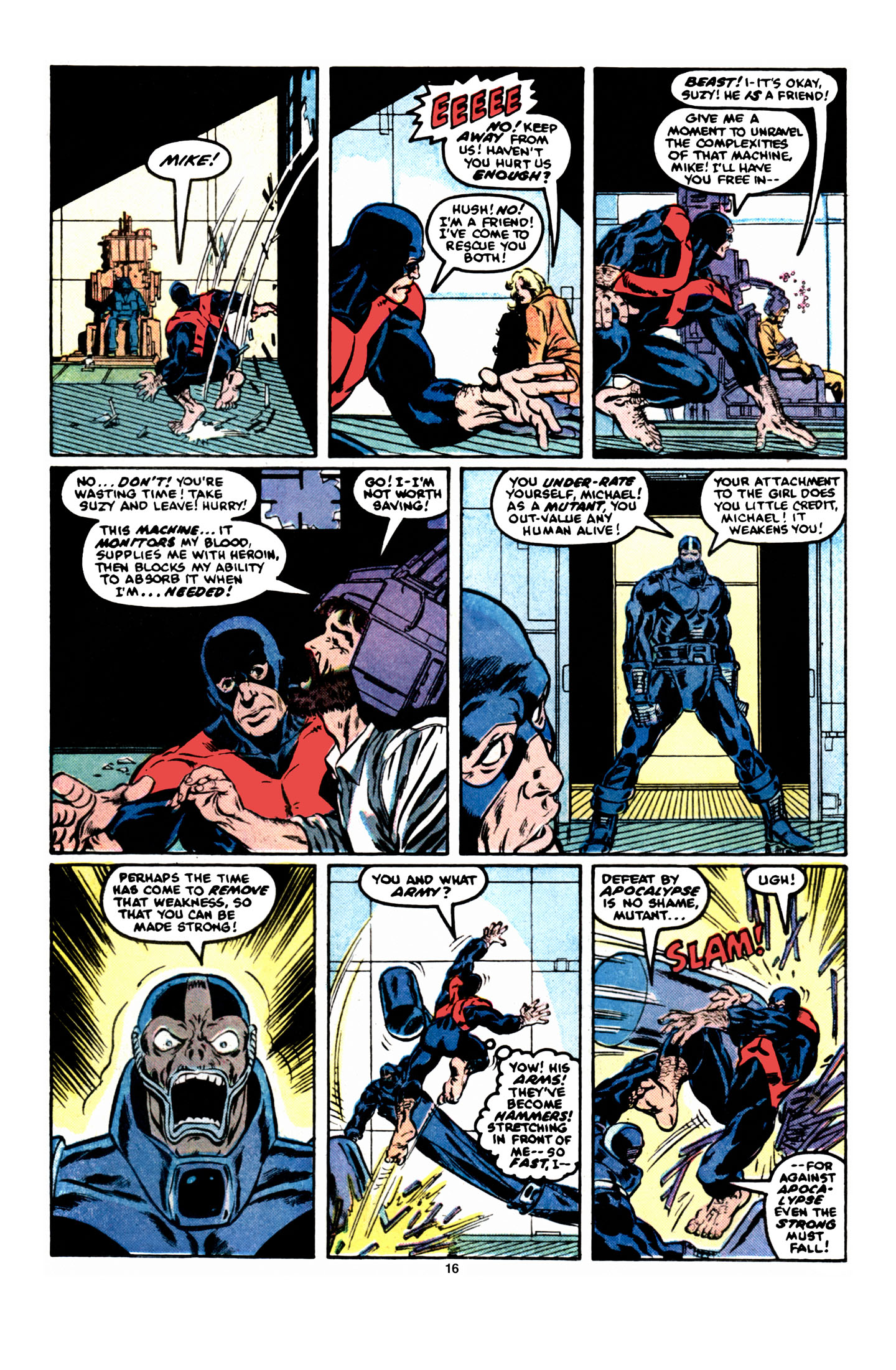 Read online X-Factor (1986) comic -  Issue #6 - 17